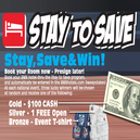 Stay-to-Save Sweepstakes