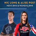 Long & Post podium at UCI Worlds