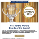 "USA BMX Grands is up for ""Best Sporting Event of the Year"" Award"