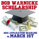 Bob Warnicke Scholarship Program