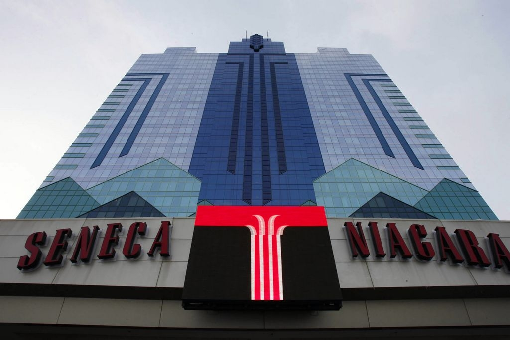 File photo of the Seneca Niagara Casino & Hotel.