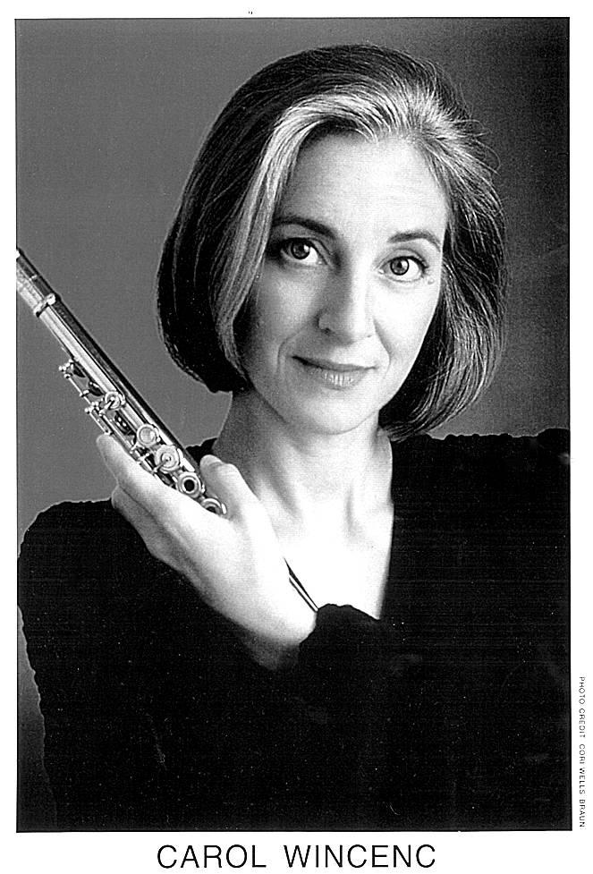 Carol Wincenc performs twice this weekend with the BPO.