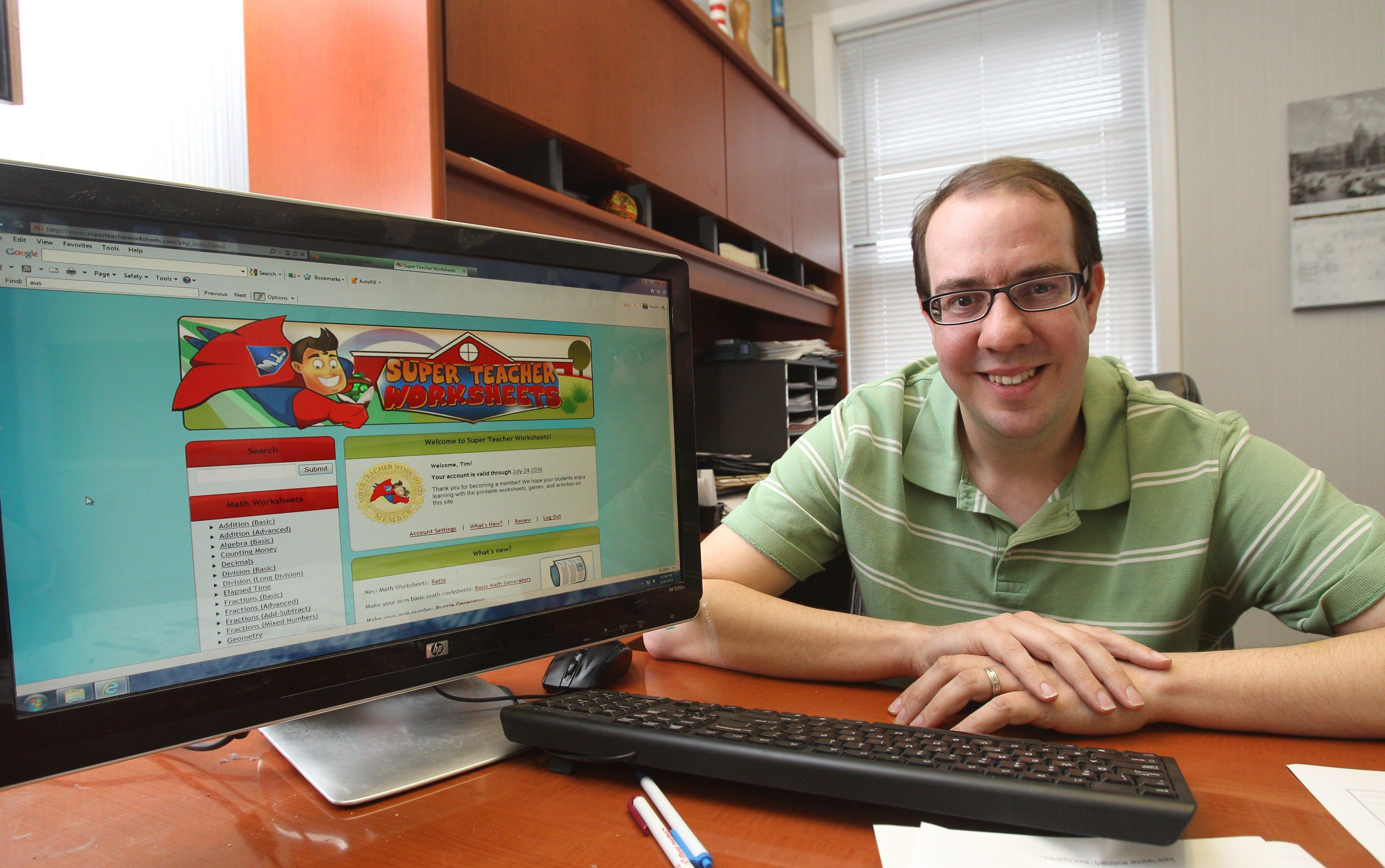 Tonawandabased company has lesson plans for the world The – Super Teacher Worksheets Password