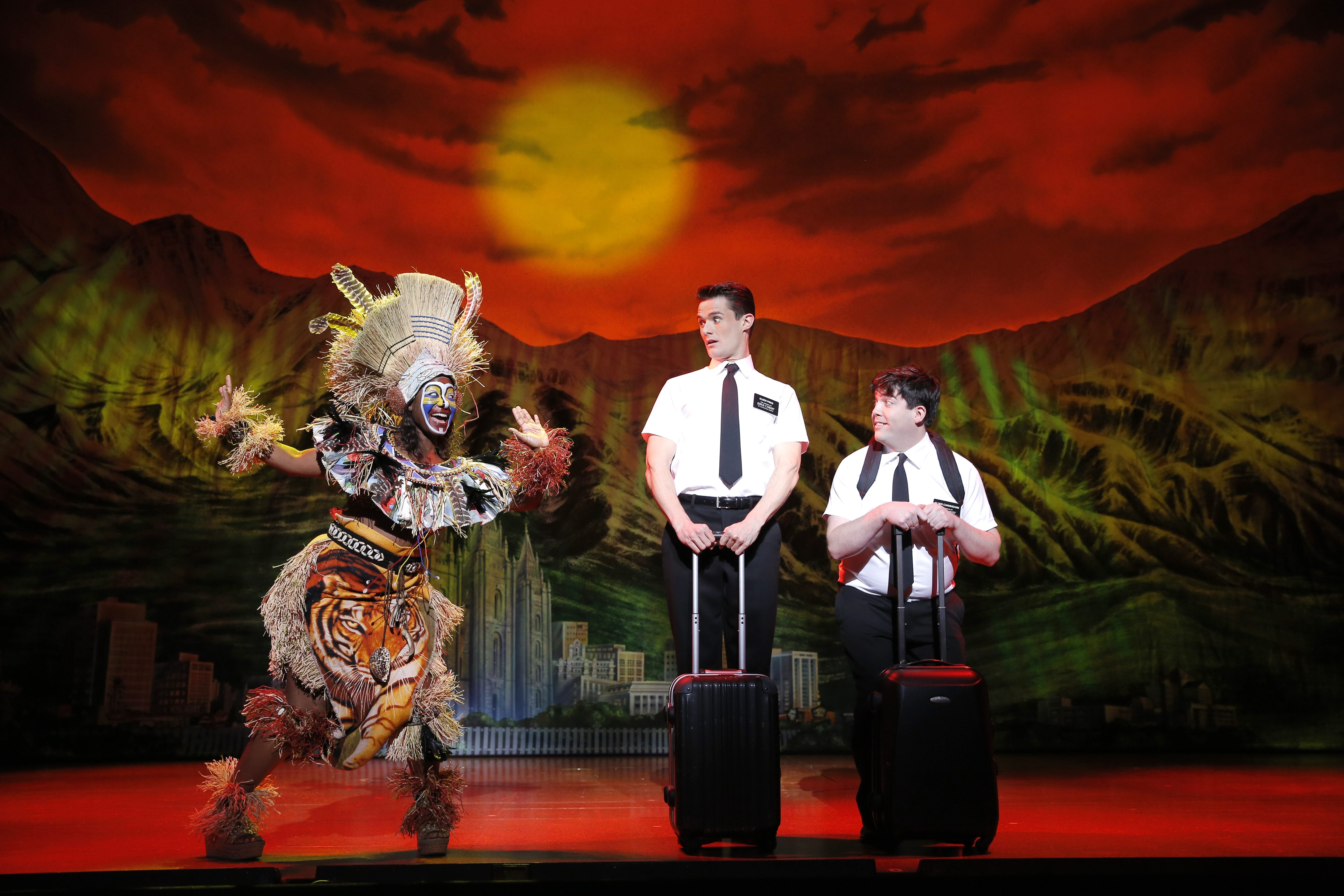 The Book of Mormon in Shea's Performing Arts Center.