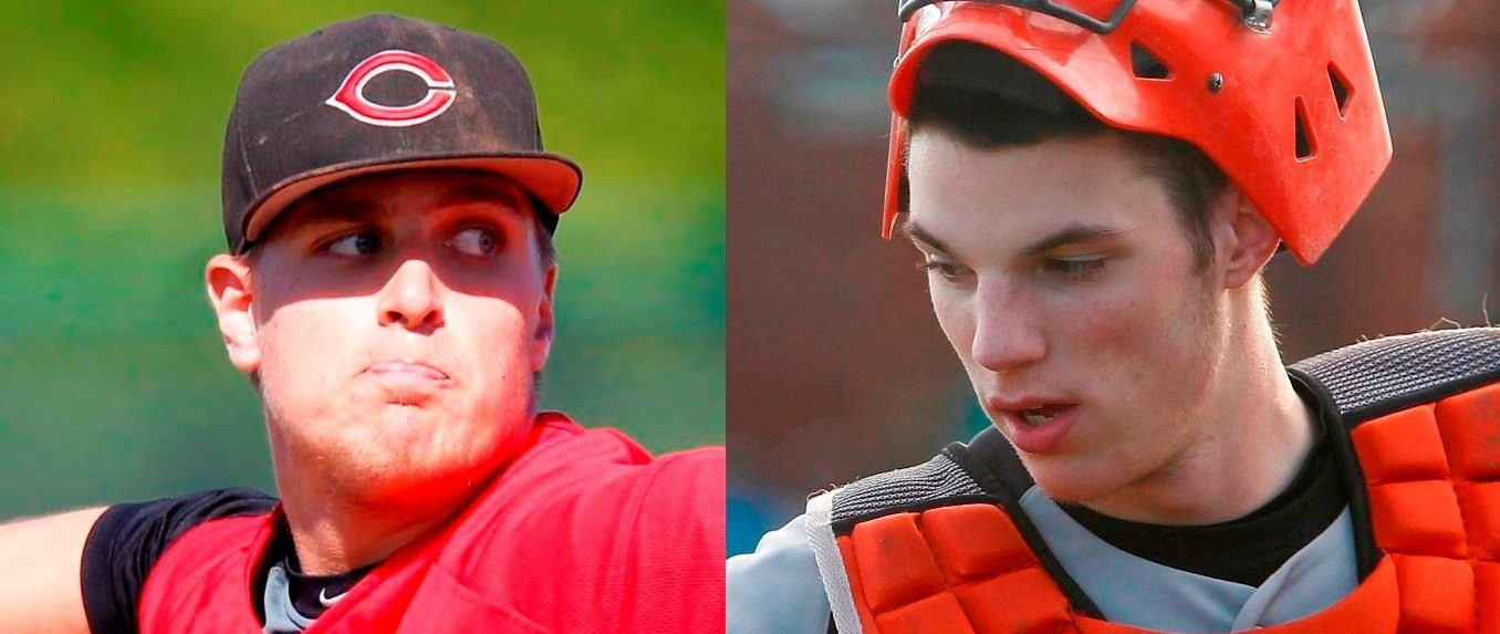 Clarence pitcher Mark Armstrong was selected by the Cincinnati Reds, while Amherst catcher Jonah Heim was taken by the Baltimore Orioles.