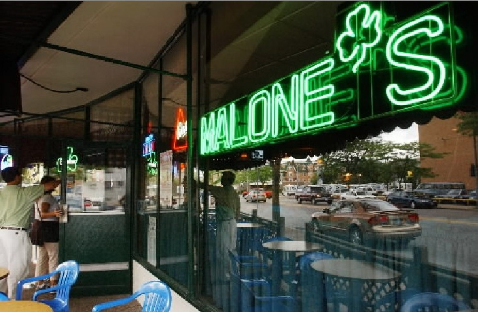 Police say victim left Malone's tavern in Kenmore shortly before midnight and was killed between 2 and 11 a.m.