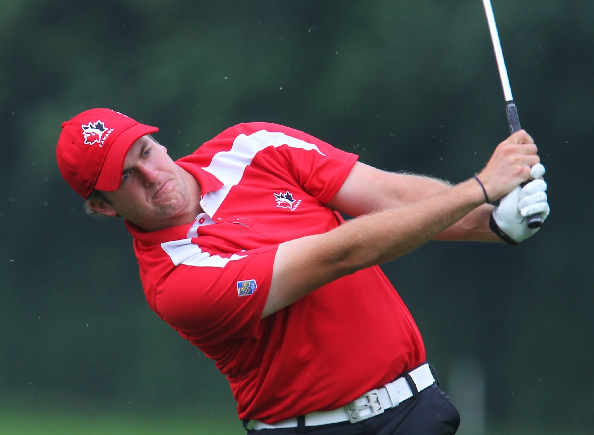 Taylor Pendrith made it difficult for others to catch him during the final round of the Porter Cup at Niagara Falls Country Club.