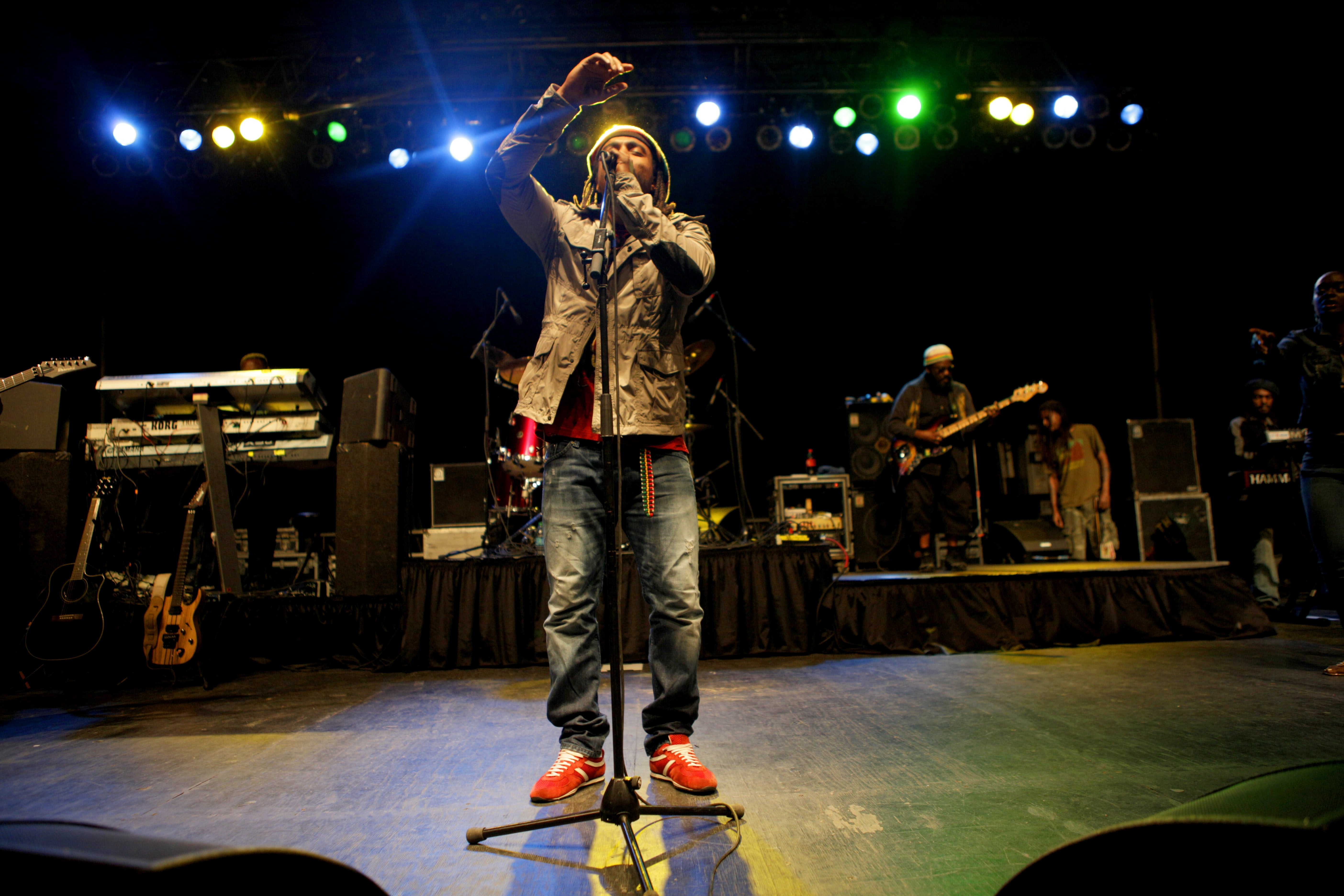 The Wailers perform during Buffalo Place Rocks Canalside on Friday. Another photo on Picture Page C10; see a photo gallery at BuffaloNews.com.