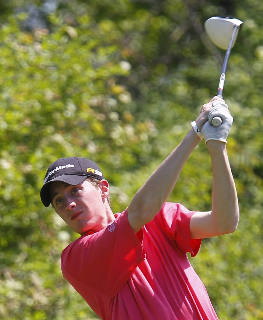 Clarence's Matt Stasiak was hoping for a playoff and wound up winning the tournament.