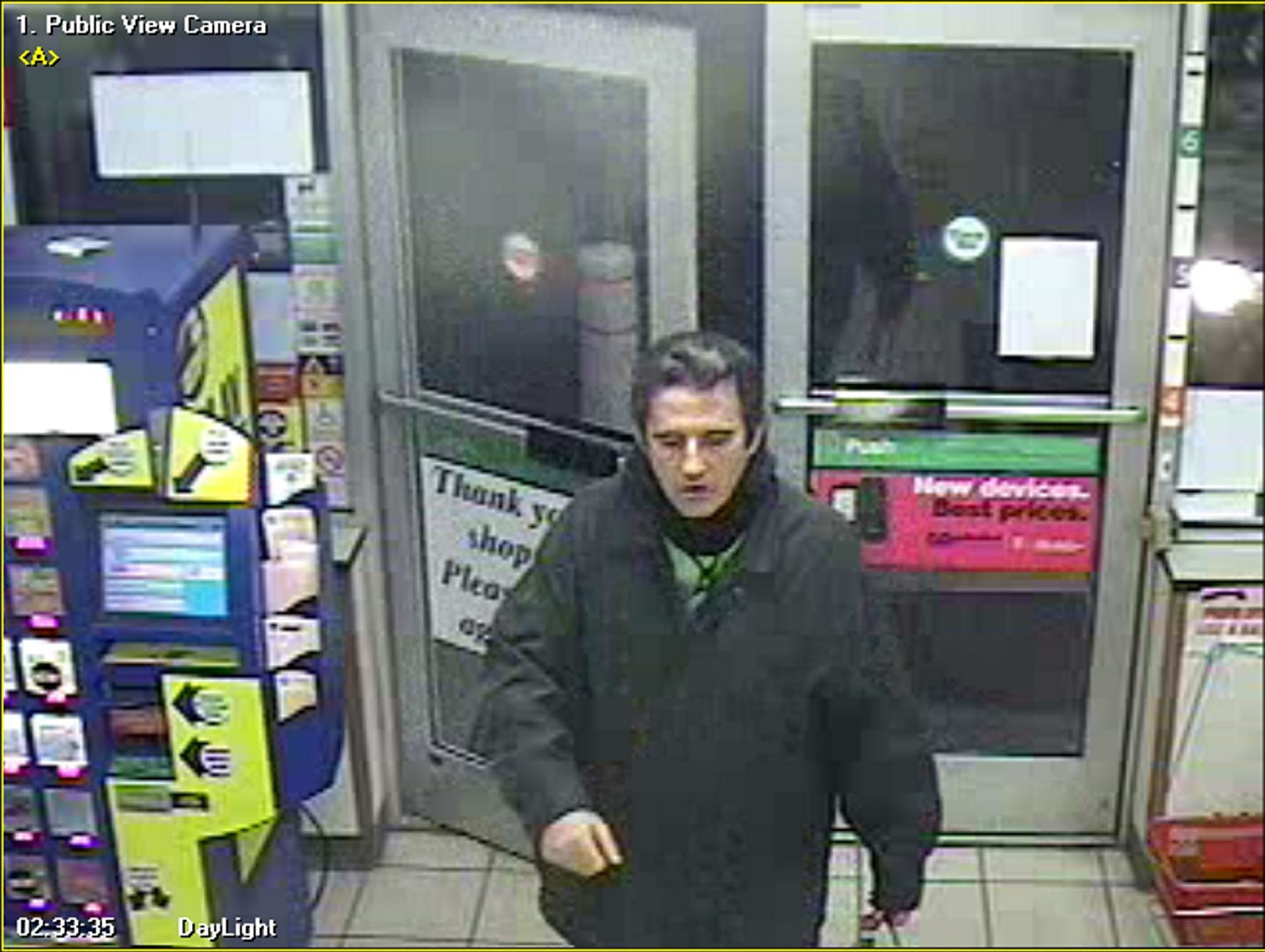 Niagara Falls police released this photo in hopes of identifying suspect.