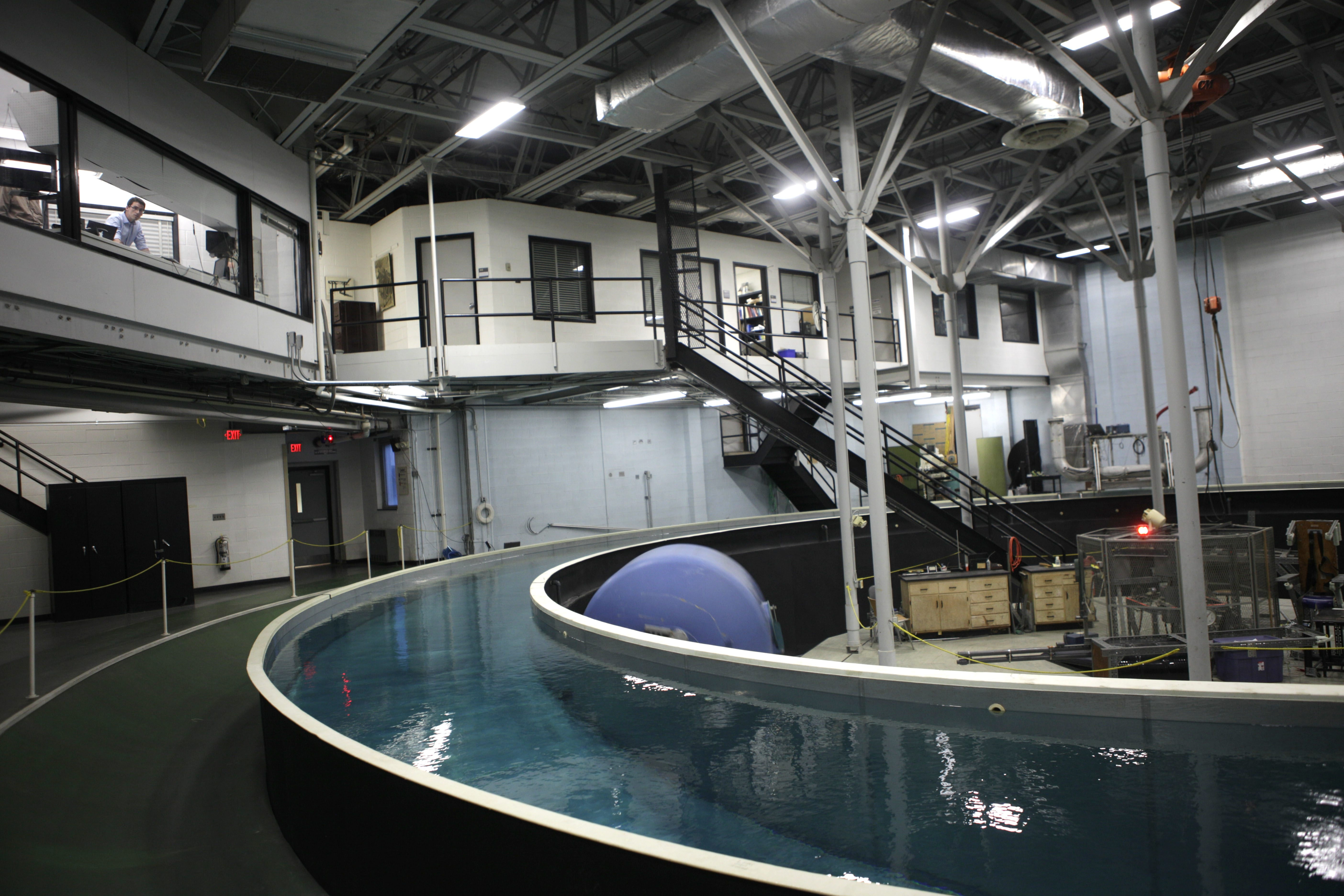 Centrifuge at  Center for Research and Education in Special Environments on UB South Campus would be dismantled.