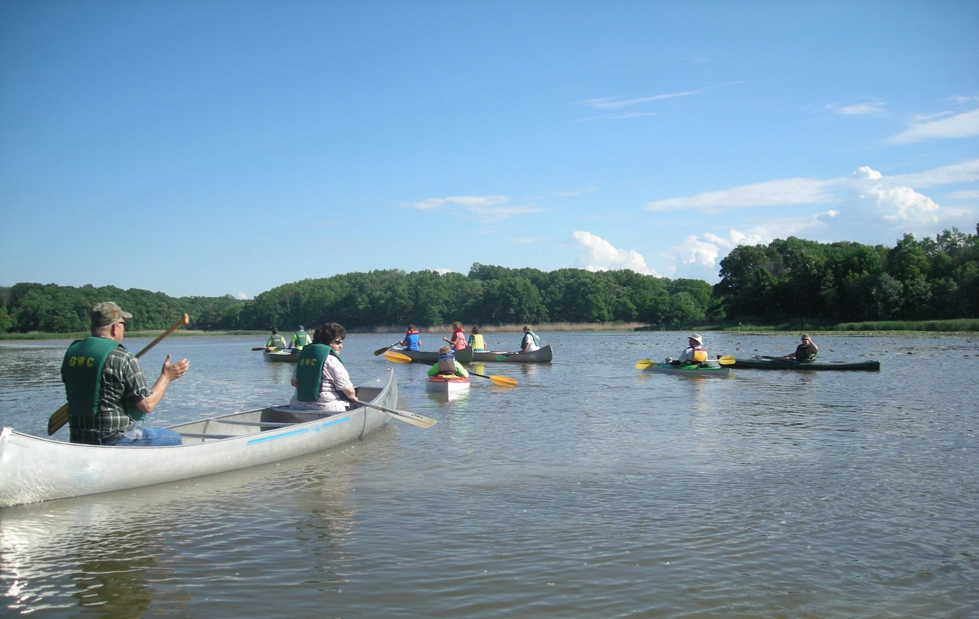Canoes and kayaks are paddled through Old Woman Creek'se estuary and up the small creek near Huron in north-central Ohio. The put-in spot is near Lake Erie and a wild beach. (Bob Downing/Akron Beacon Journal/MCT)