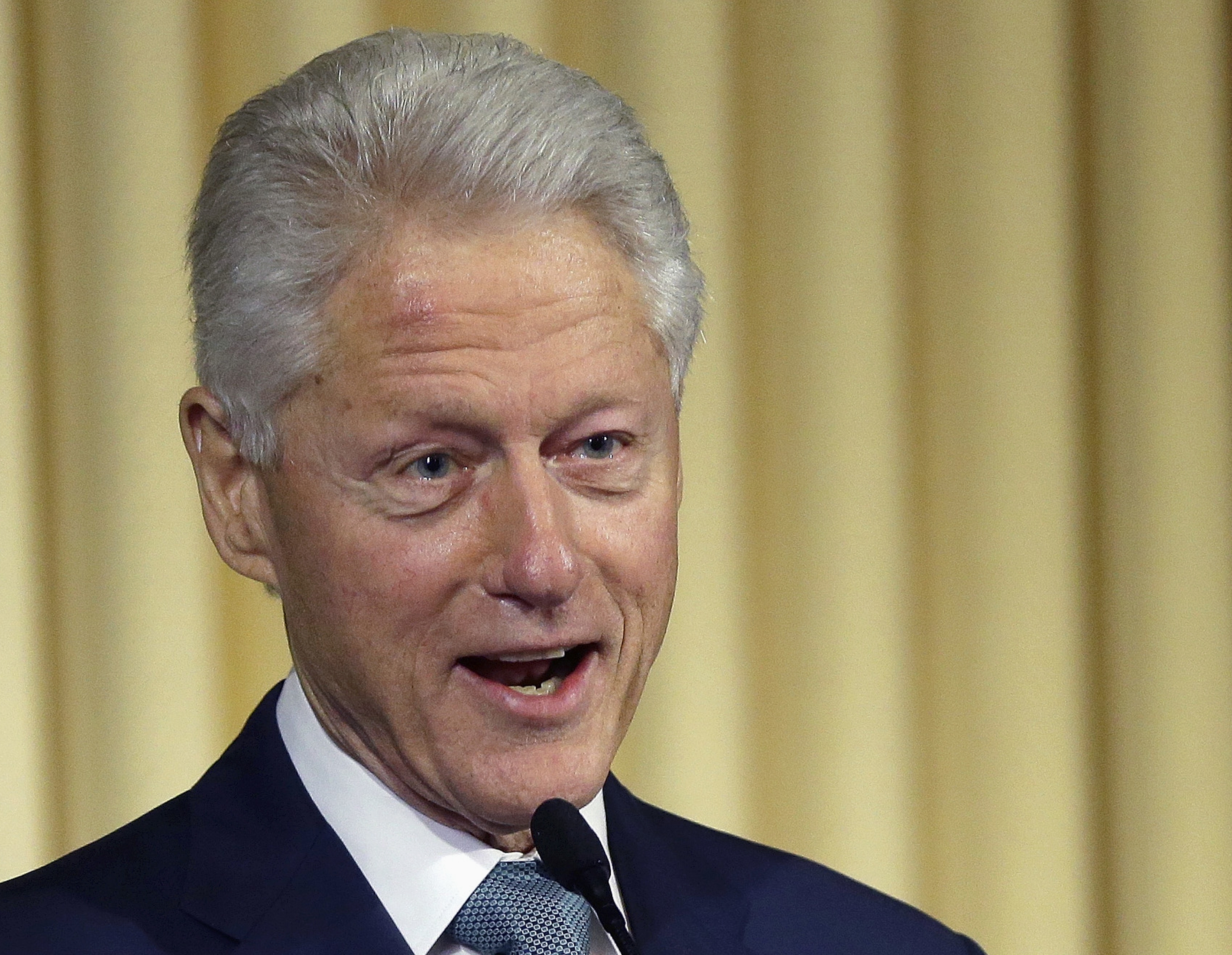 Bill Clinton was known for loving junk food.