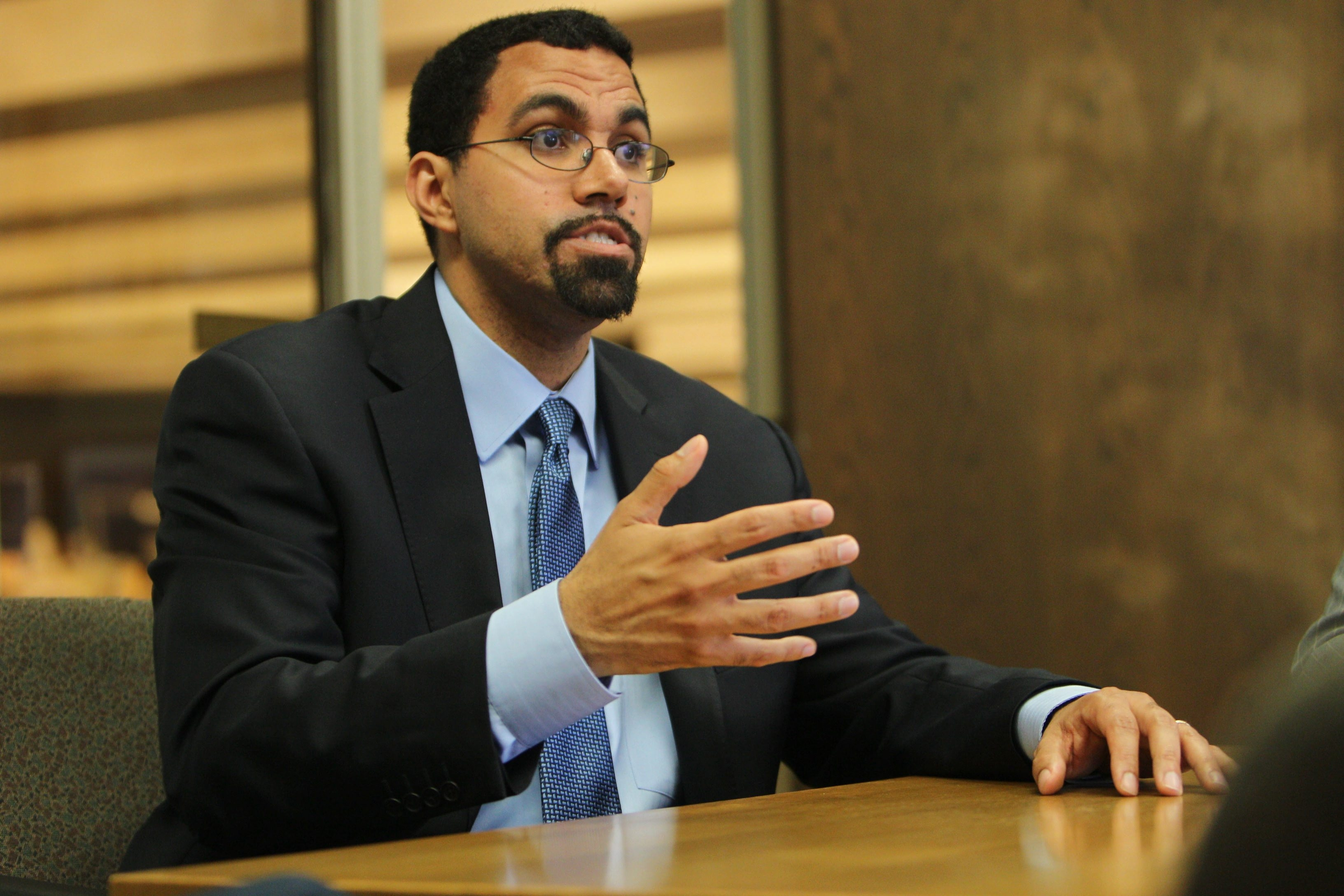 State Education Commissioner John B. King Jr. points to multiple shortcomings by Buffalo school leaders. (Buffalo News file photo)