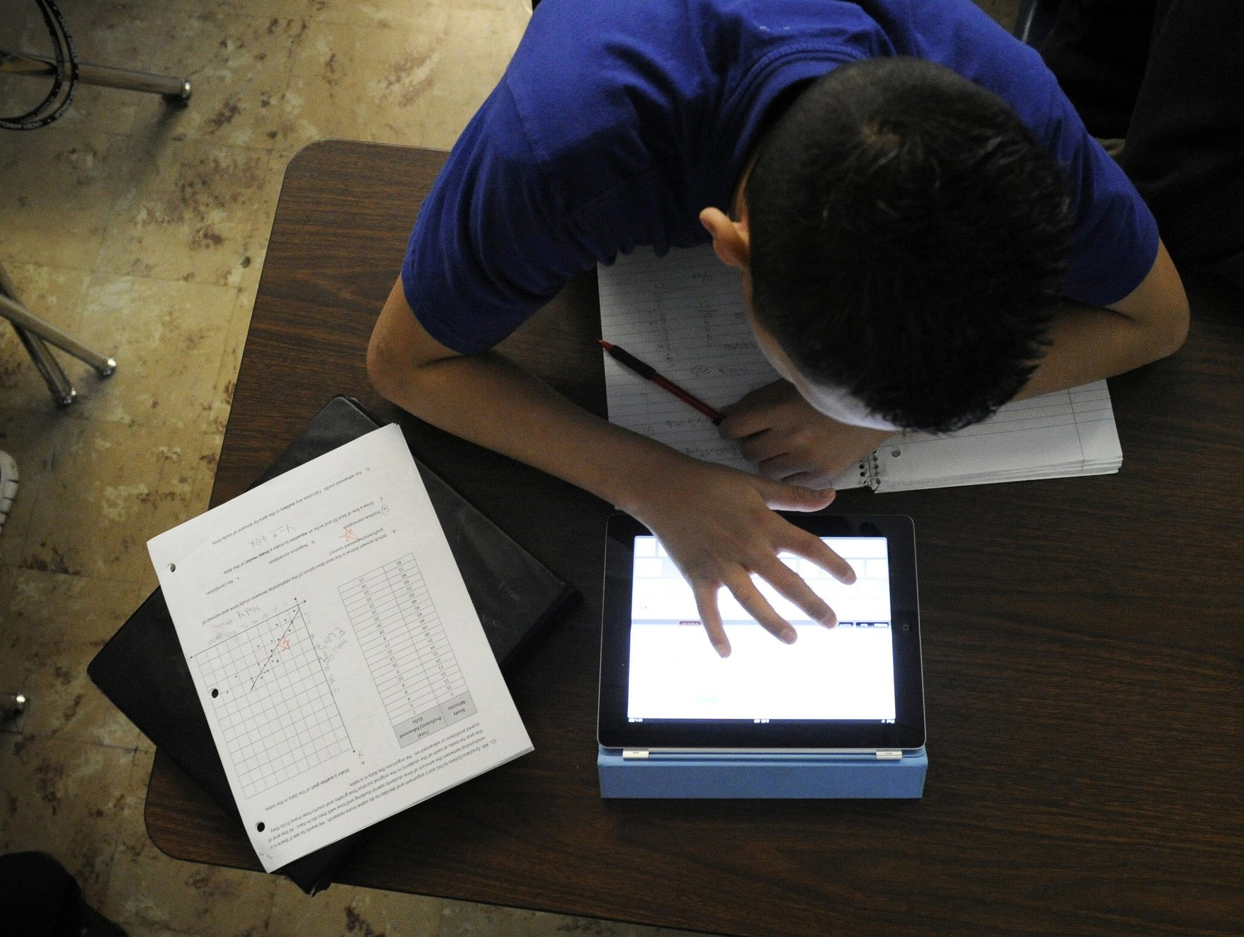 Make sure your kids use passwords for their smartphones and tablets.