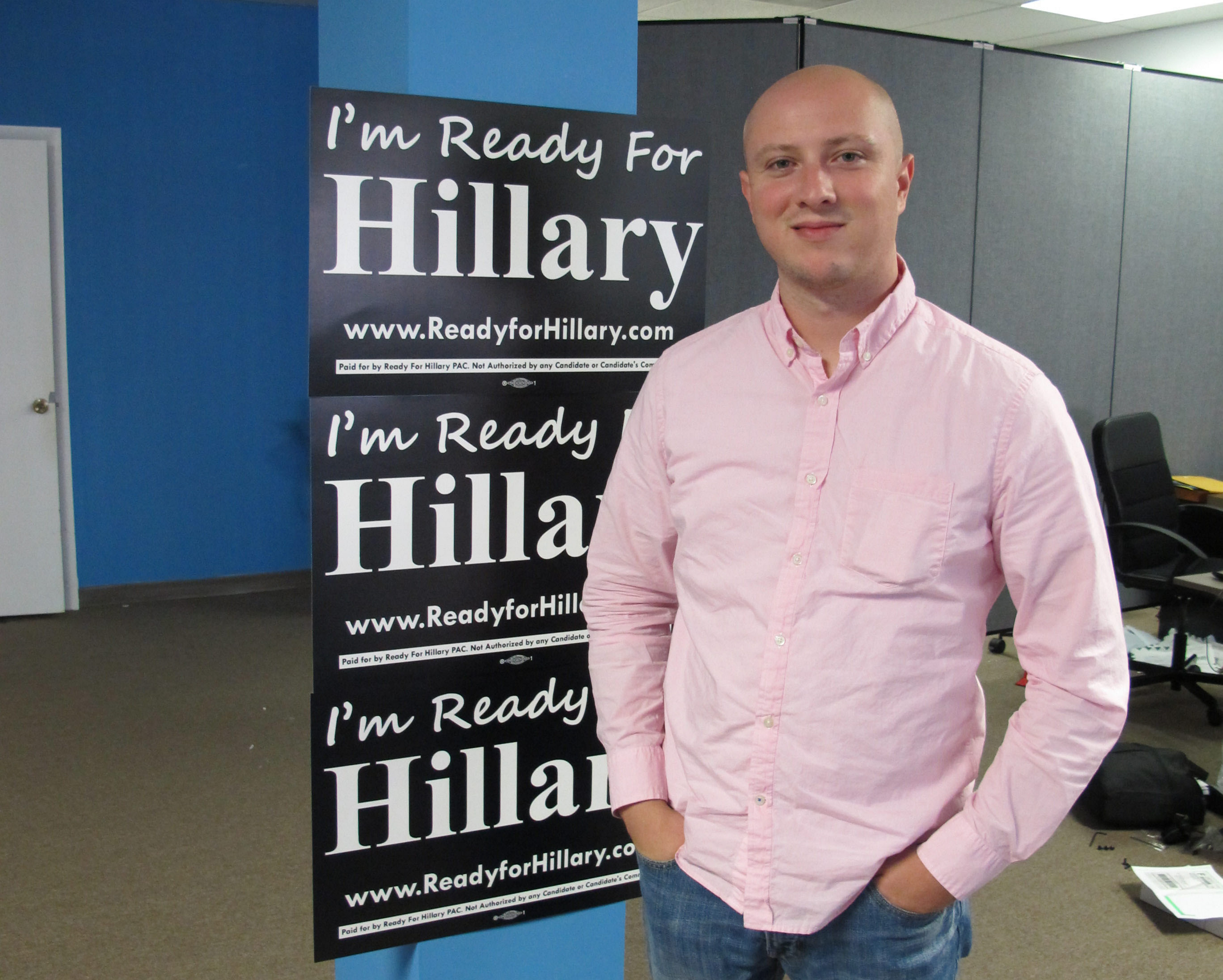 Adam Parkhomenko launched the Ready for Hillary Super PAC in January.