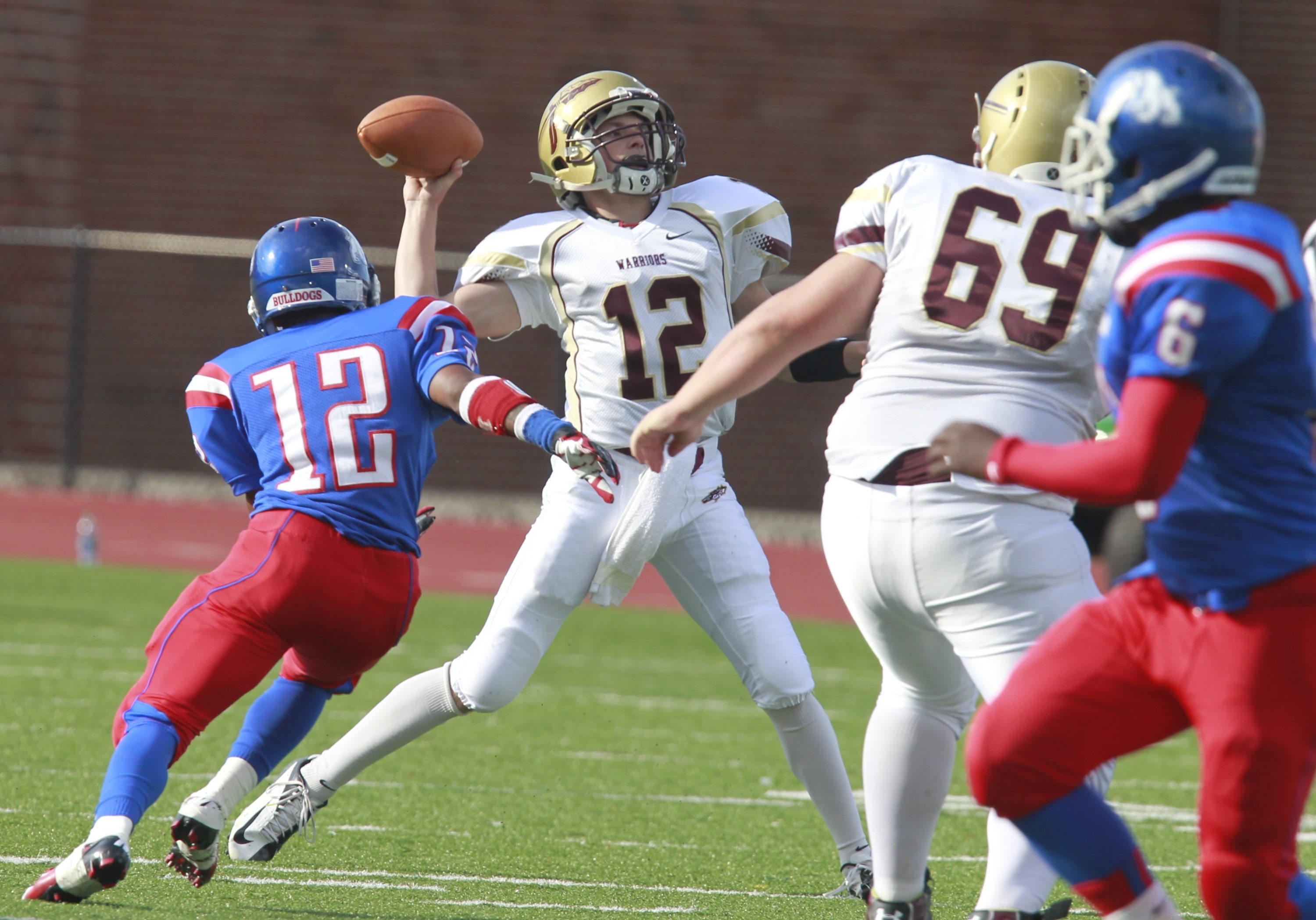 Quarterback Tim Whalen and Cheektowaga could again vie for first place with Burgard and Amir Dennis (12).