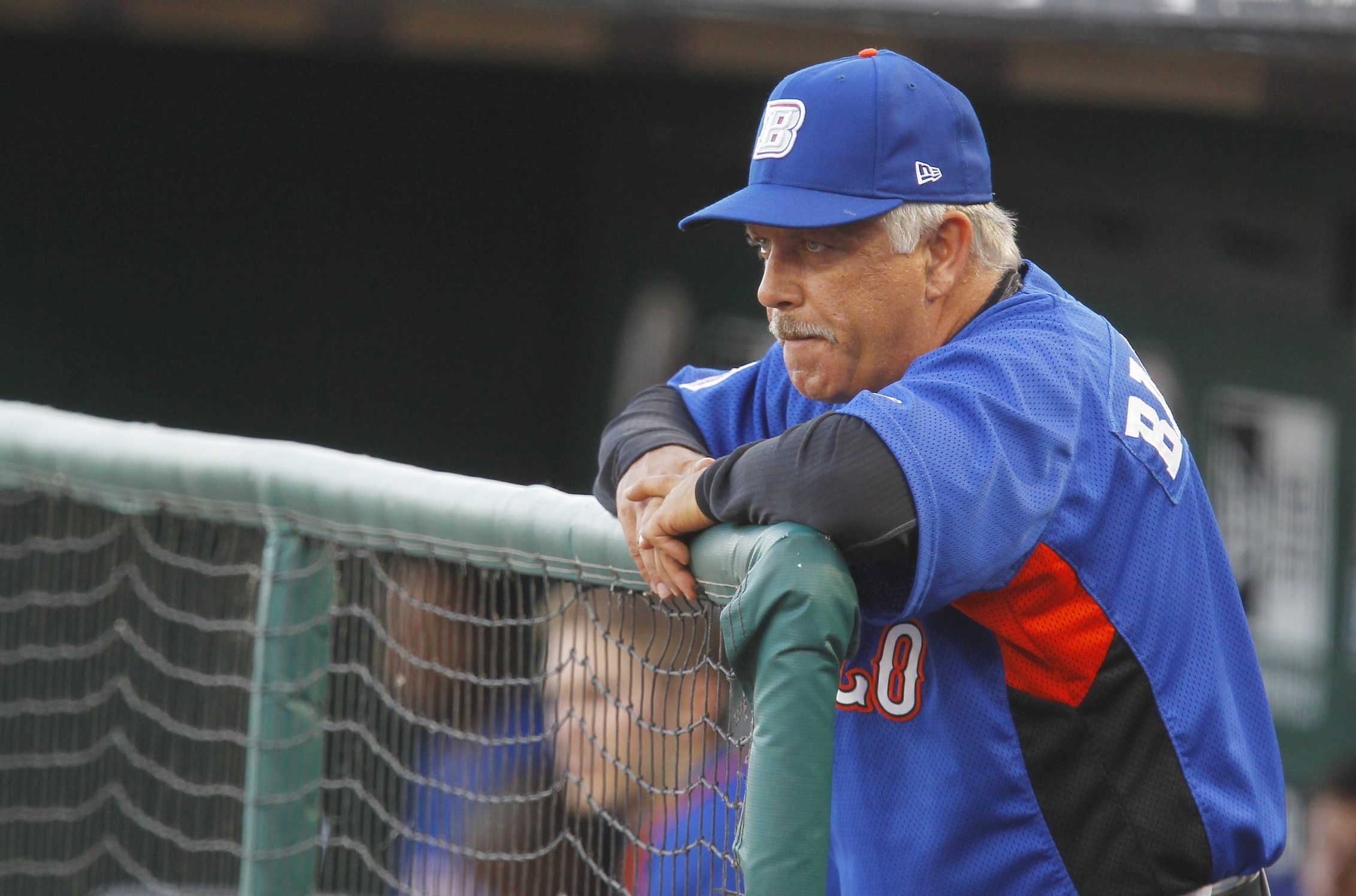 Manager Wally Backman regretted losing two key Bisons in a disappointing 2012 season.