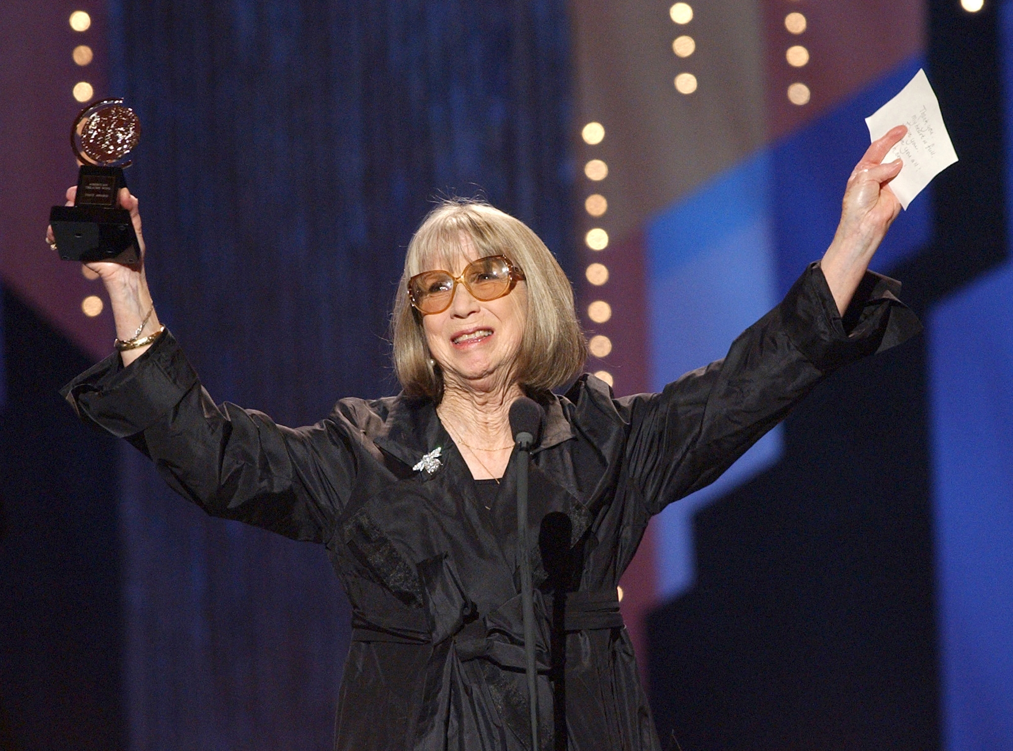 Julie Harris won a record five Tonys for best actress in a play. She died Saturday.