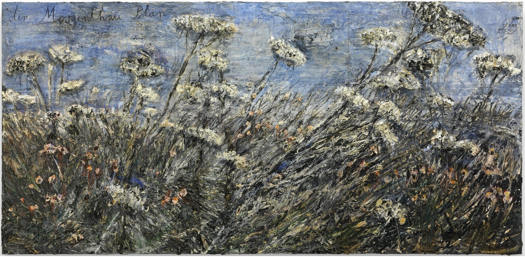 """The Albright-Knox Art Gallery will exhibit German-born painter Anselm Kiefer's large 2012 landscape """"der Morgenthau Plan,"""" which it recently acquired, in a yearlong exhibition opening Nov. 17."""