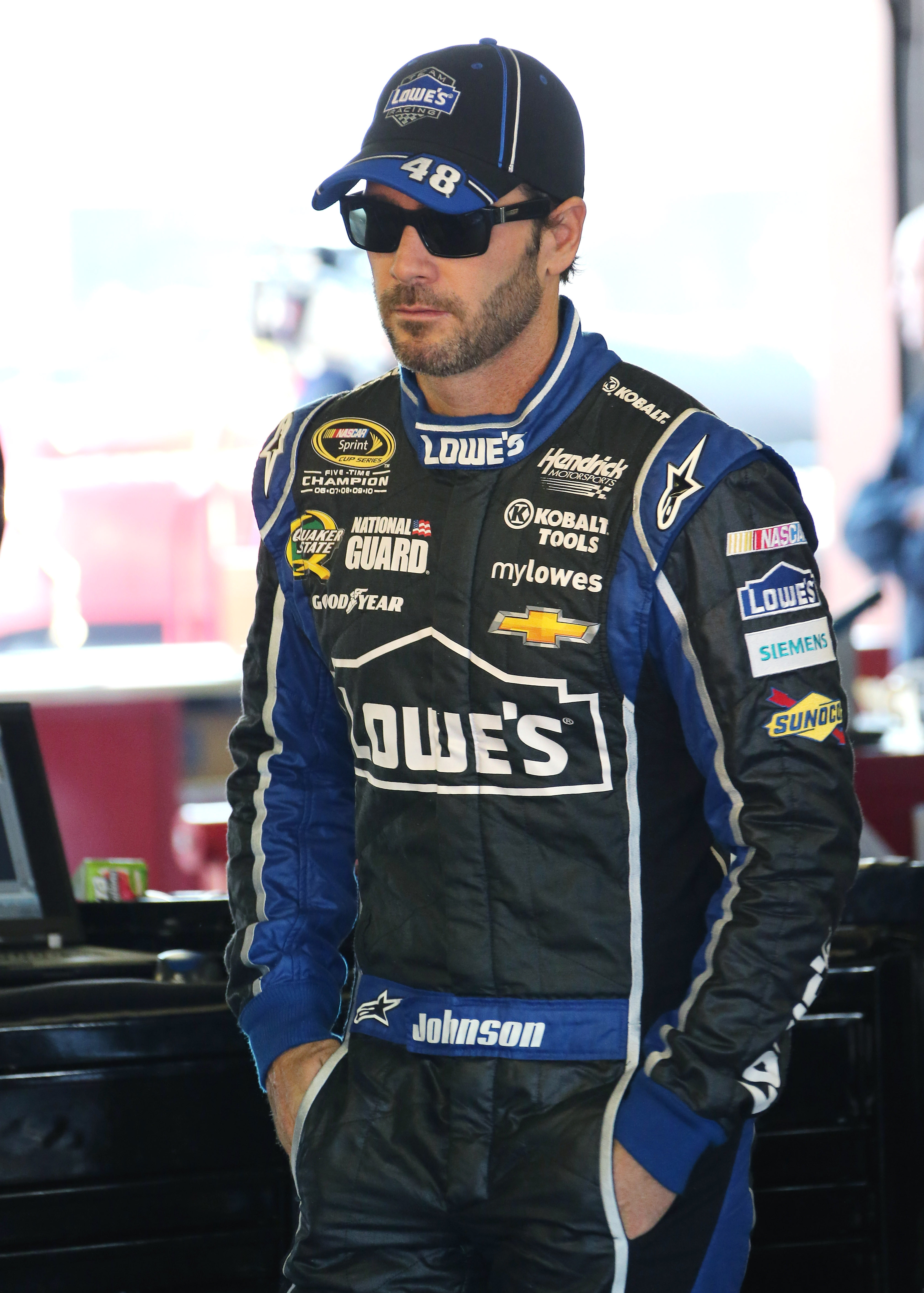 Jimmie Johnson has been atop the NASCAR Sprint Cup Series standings for all but a few weeks this season.