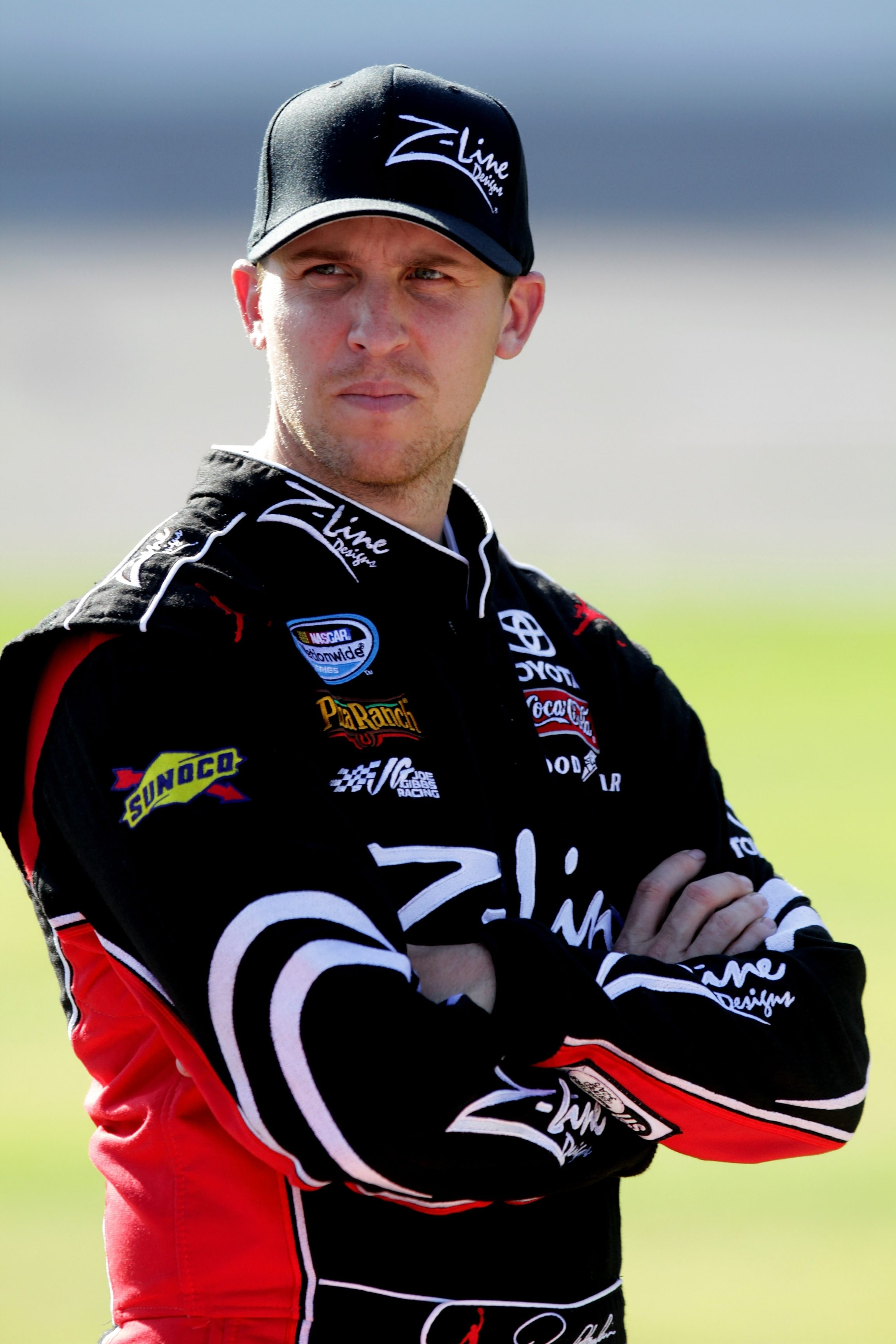 Denny Hamlin won last year's event at Bristol Motor Speedway.