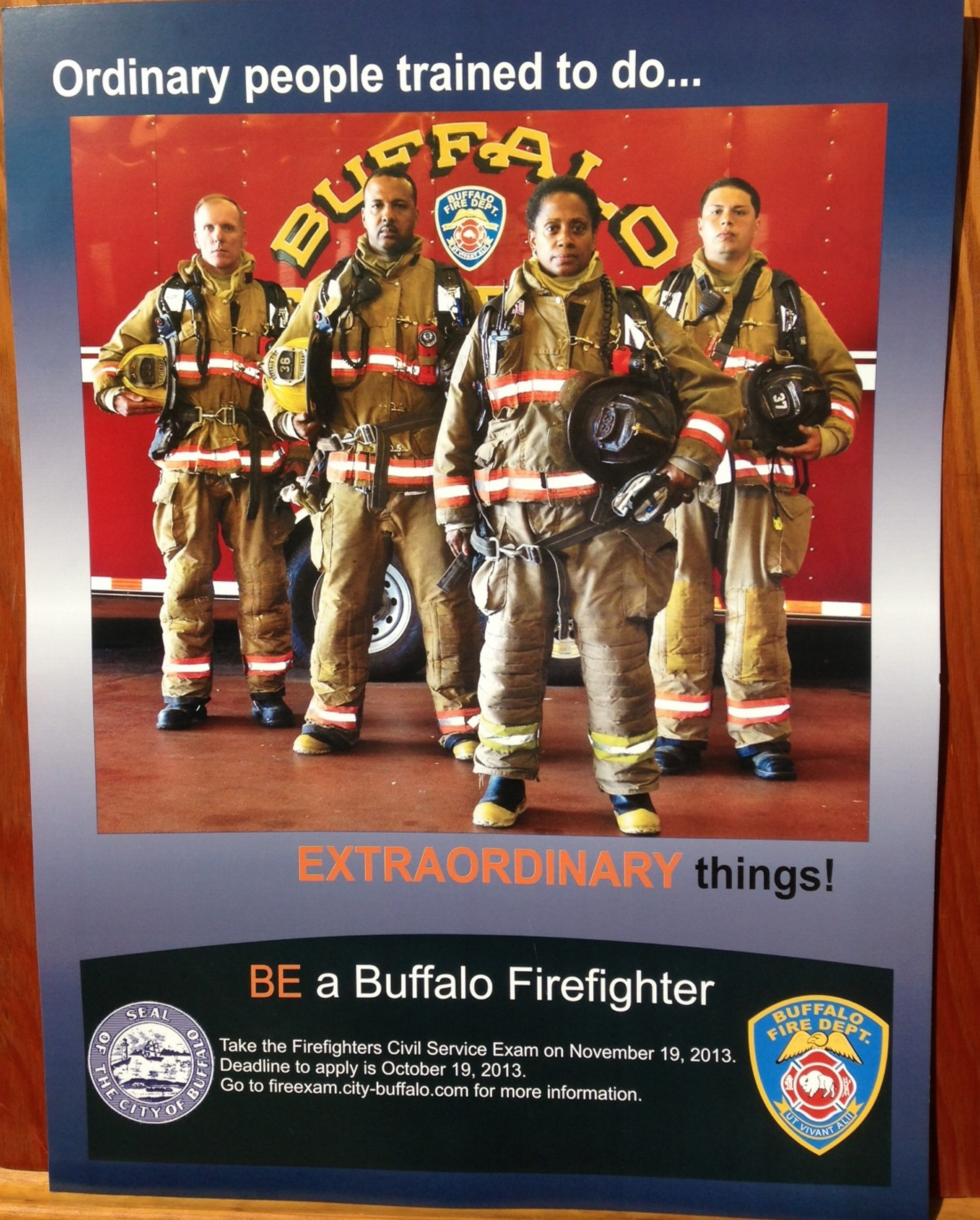 The Buffalo Fire Department has launched a citywide recruitment campaign.