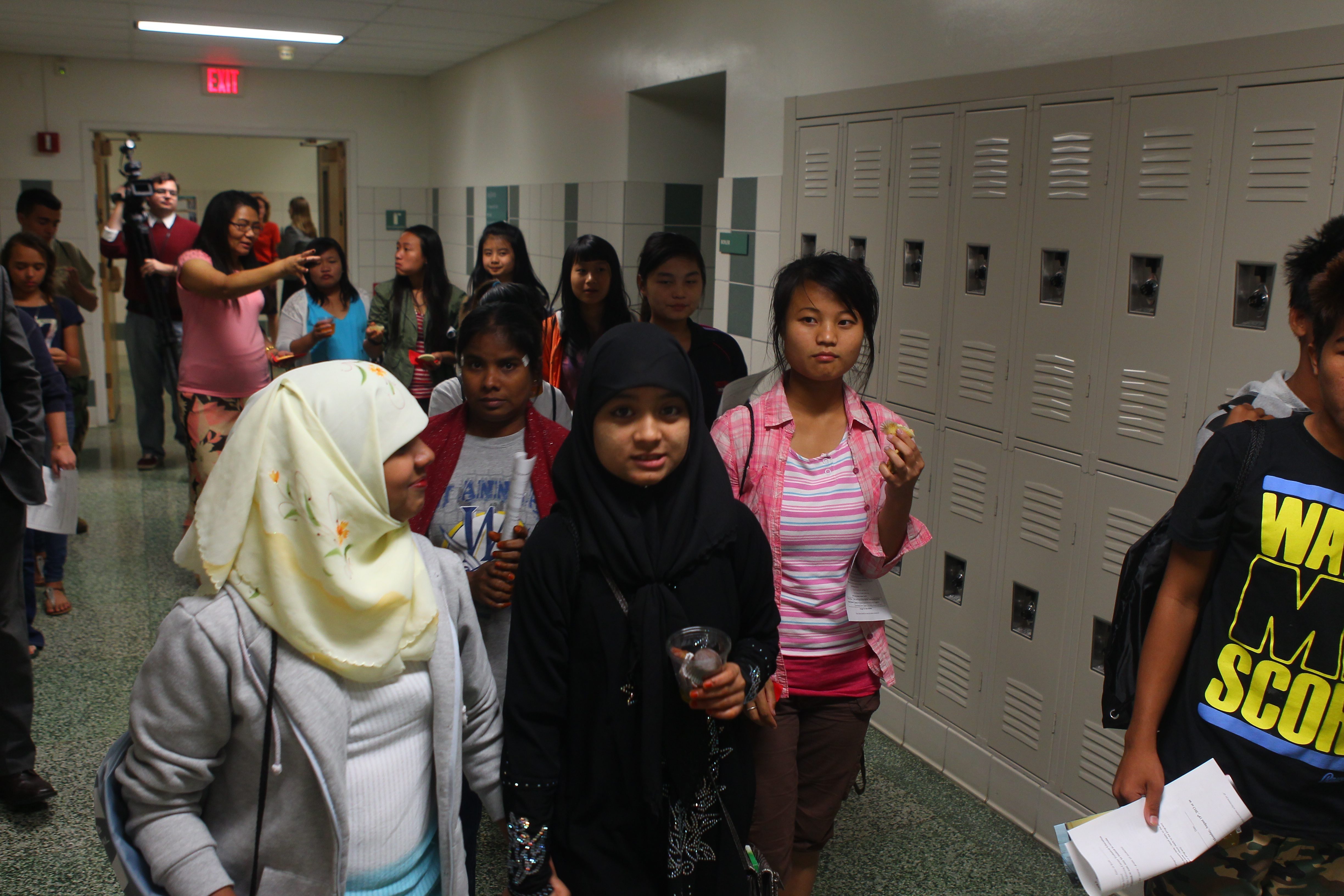 About 60 students, many of whom face English language barriers, visited the BOCES Harkness Center.