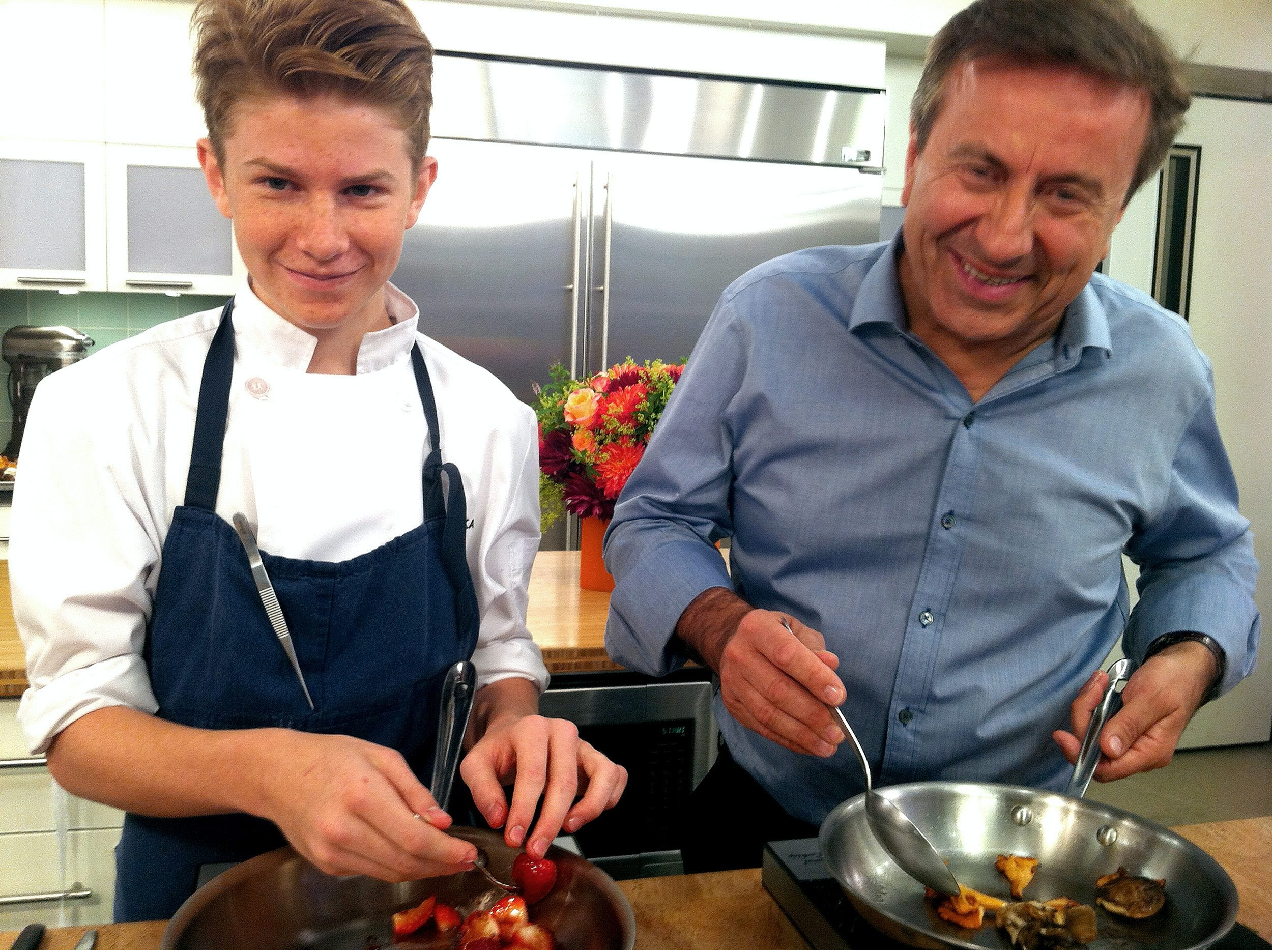 """Flynn McGarry has cooked with Daniel Boulud on the """"Today"""" show."""