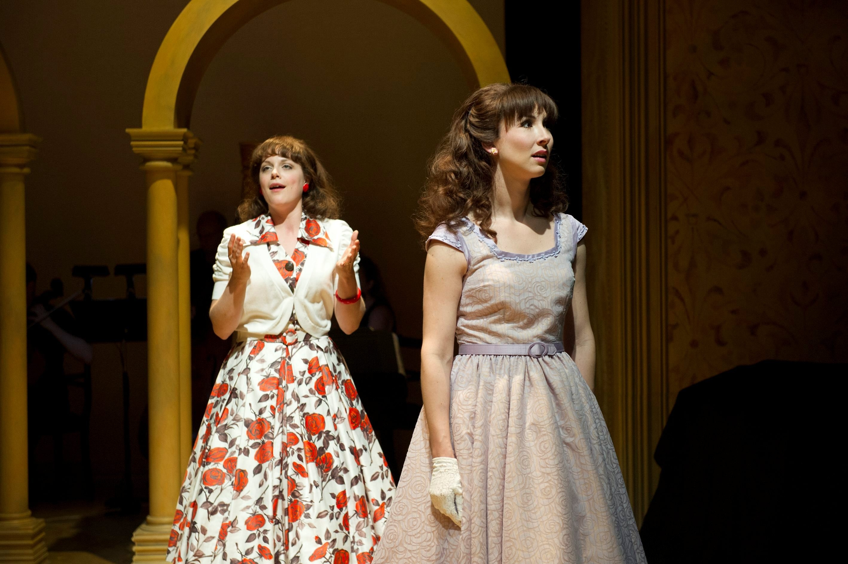 """Kaylee Harwood and Jacqueline Thair star in """"Light in the Piazza"""" at the Shaw Festival."""