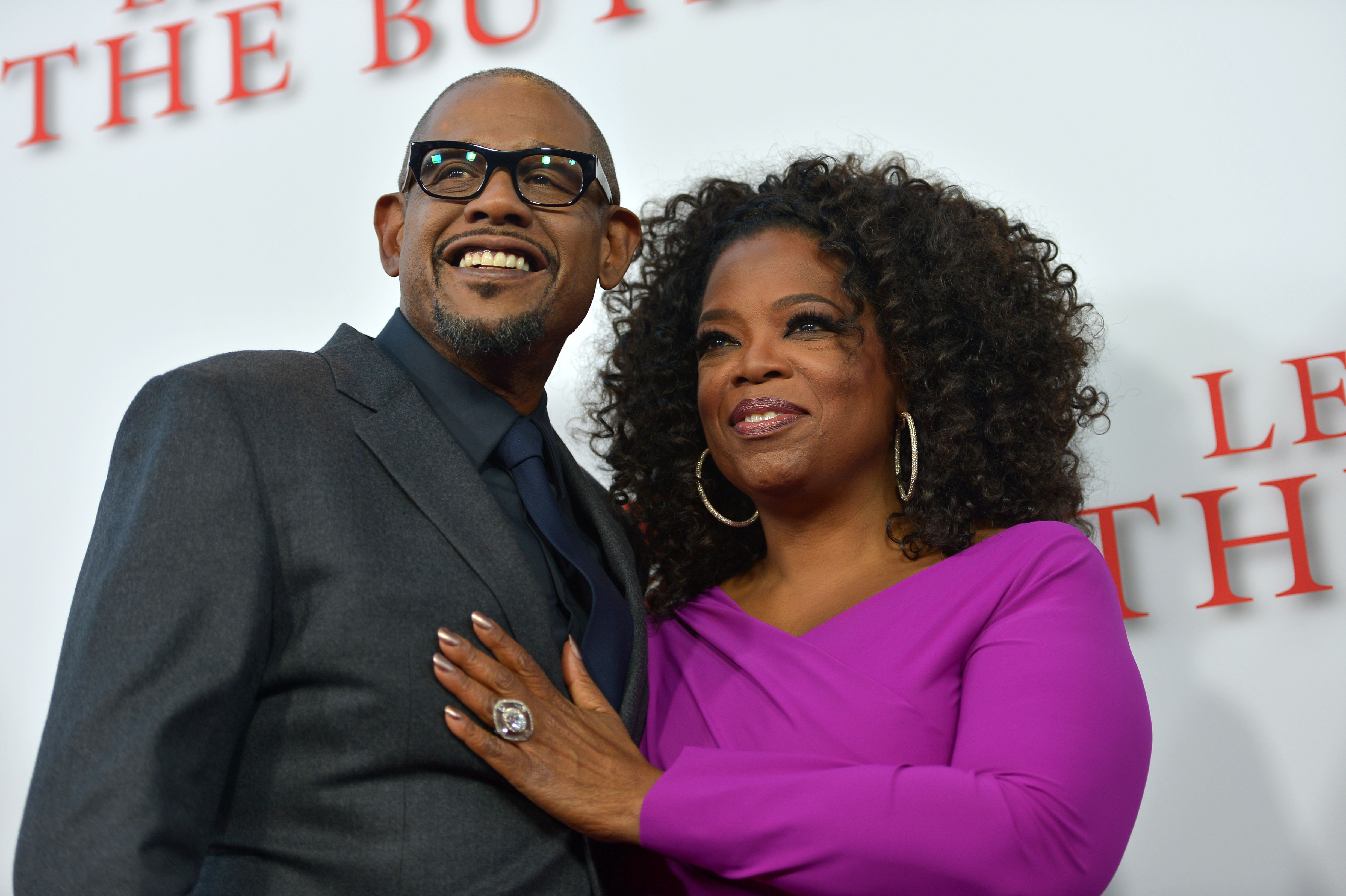 "Forest Whitaker and Oprah Winfrey attend the Los Angeles premiere of ""Lee Daniels' The Butler"" on Monday. Winfrey said she regrets the media frenzy over a purse."