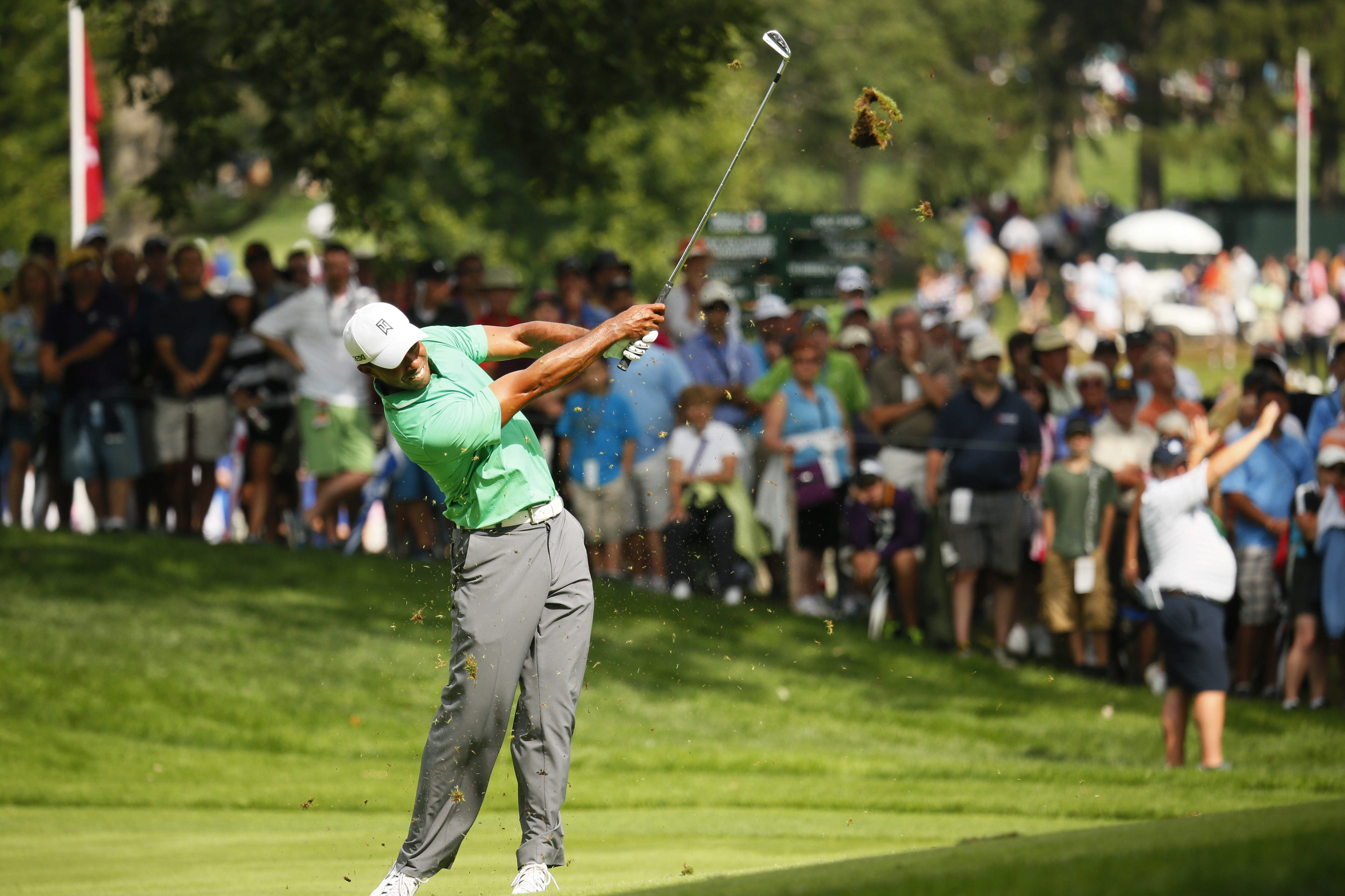 Tiger Woods needs to put together a really good weekend in order to overcome a 10-shot deficit.