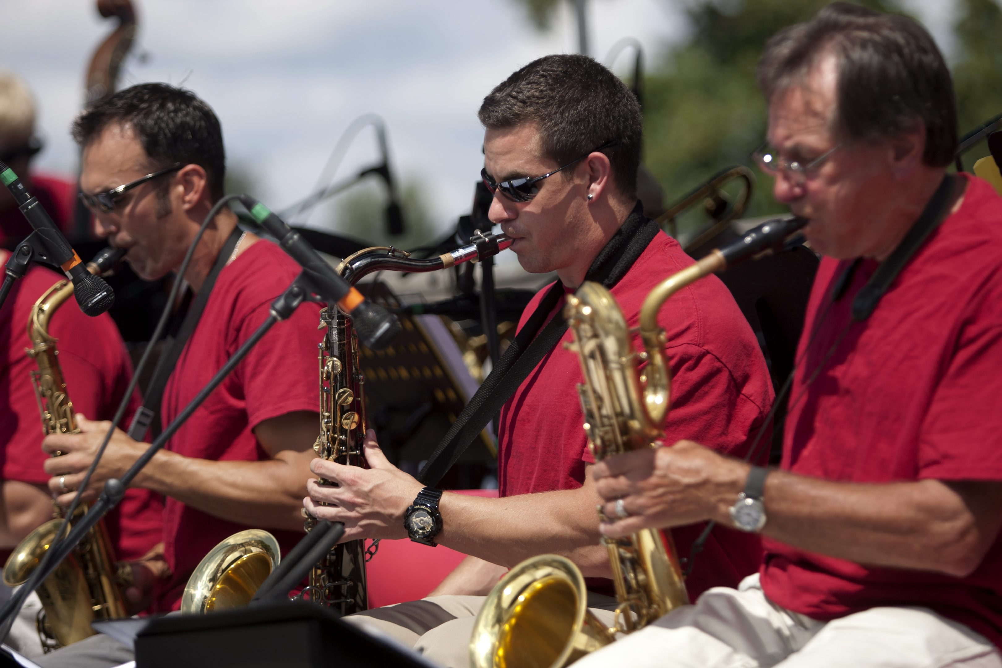 The Western New York Jazz Orchestra delivered original tunes by leader Dave Kayne as well as hot and fresh arrangements of swing favorites at the series' final performance.