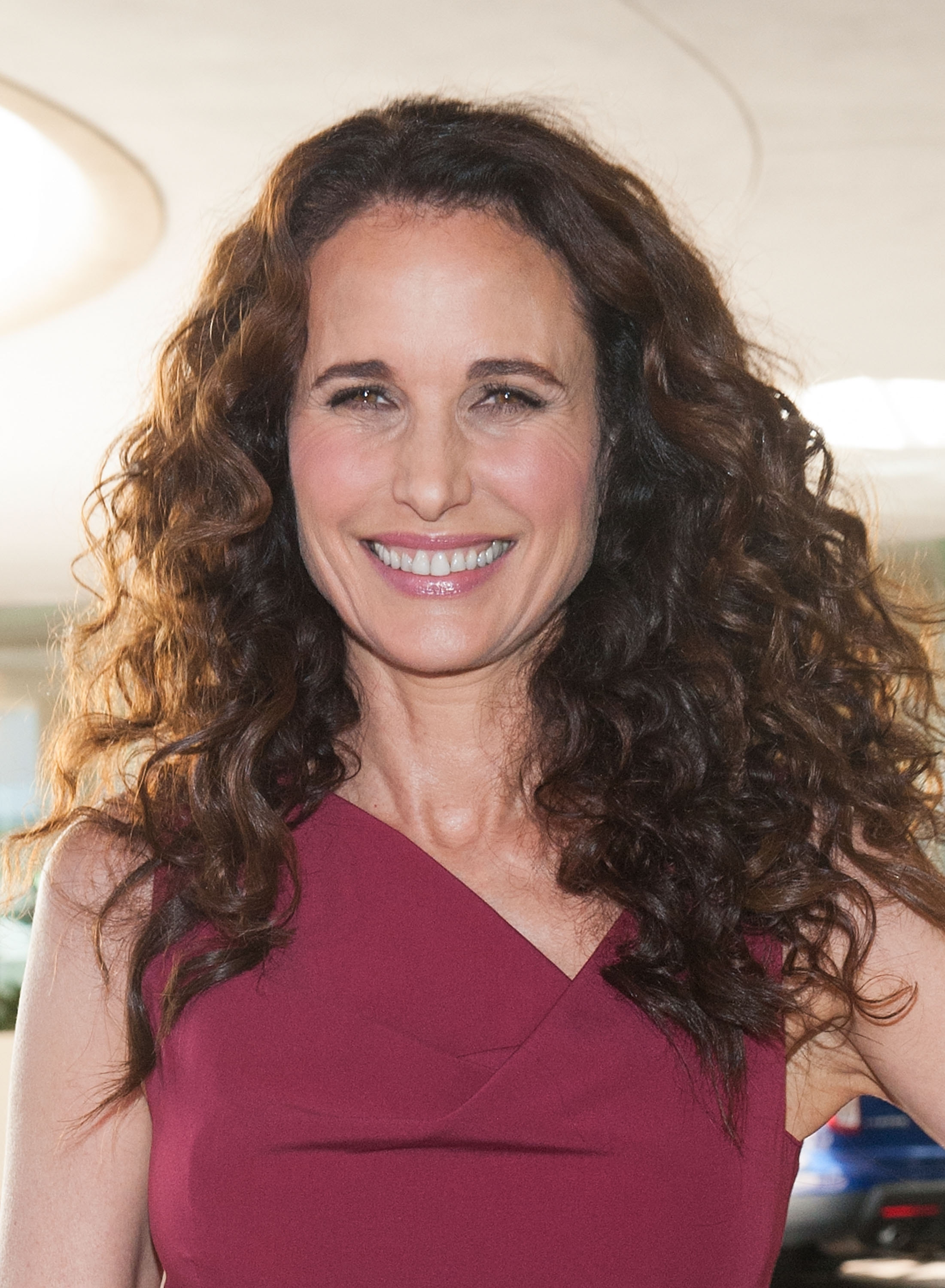 Andie MacDowell stars in the Hallmark Channel's first prime-time scripted series.