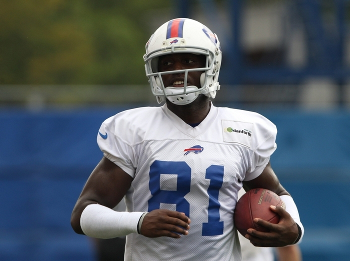 Marcus Easley led the Bills with 12 receptions and stood out on special teams in the preseason. (James P. McCoy/Buffalo News)