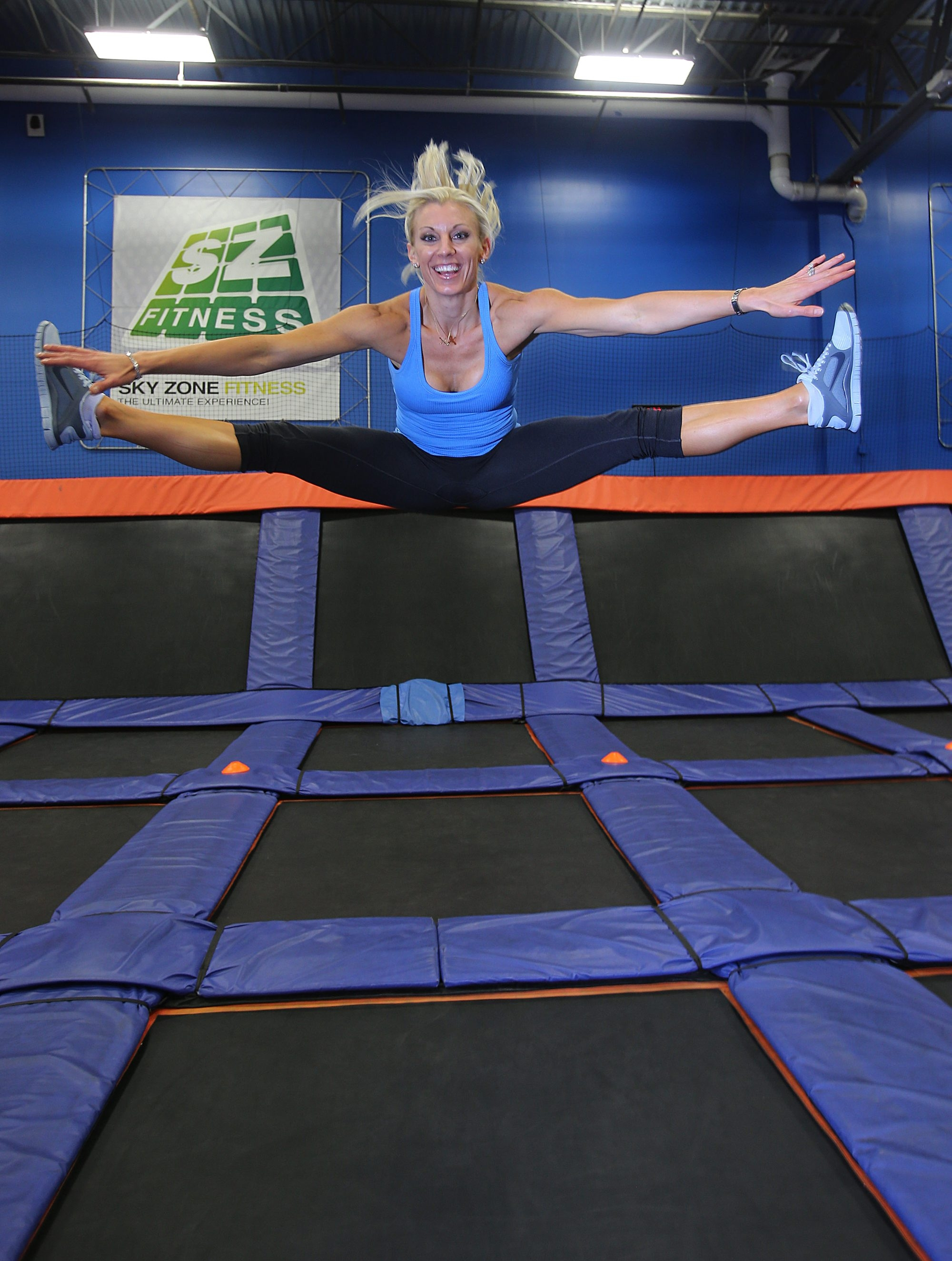 For Rhonda See, owner of Sky Zone Indoor Trampoline Park in Cheektowaga, easily digestible foods give her an energy boost.