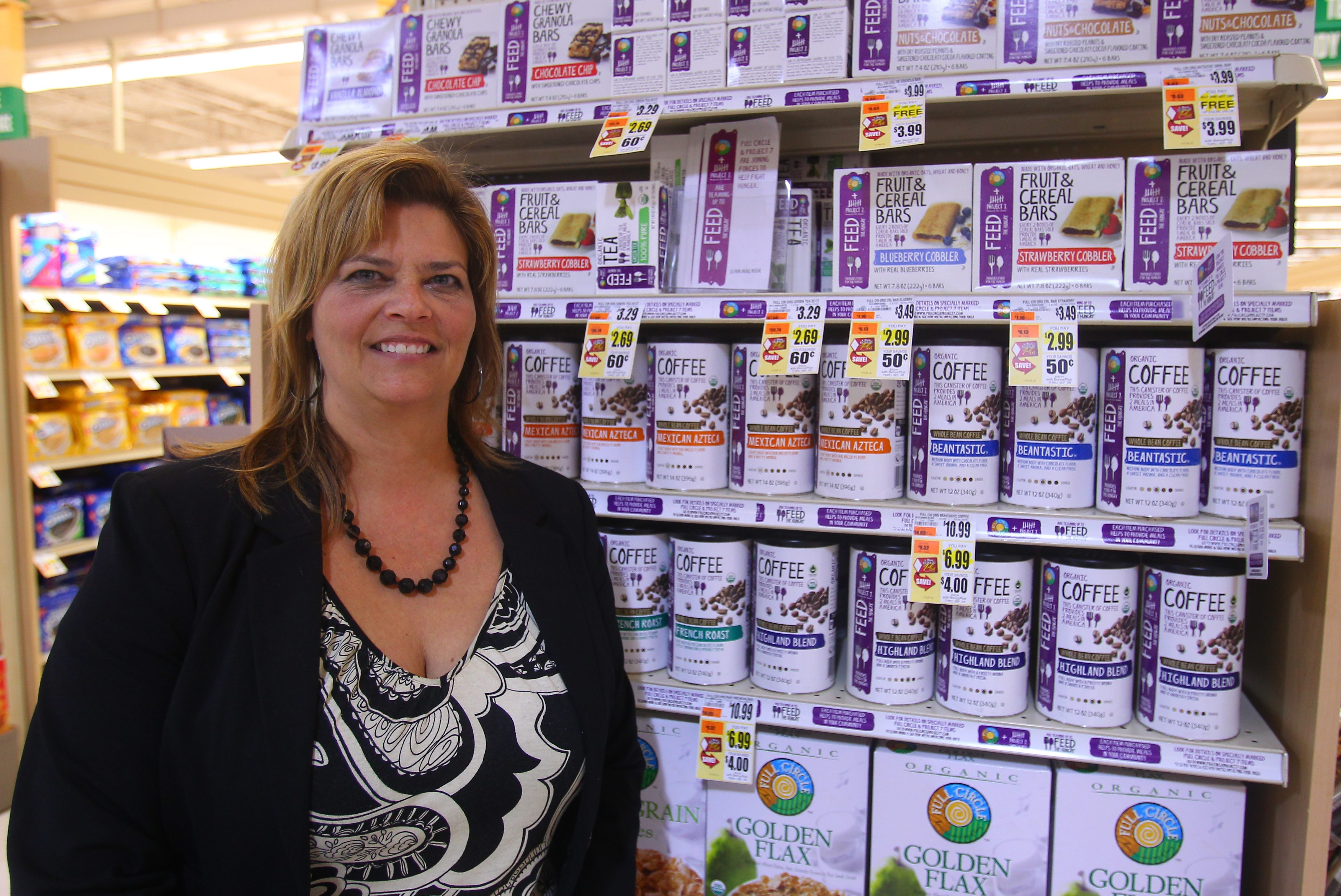 Paula Yoder-McMahon and her six-member team are tasked with finding healthy food trends for specialty, ethnic, health and natural products at Tops Markets.