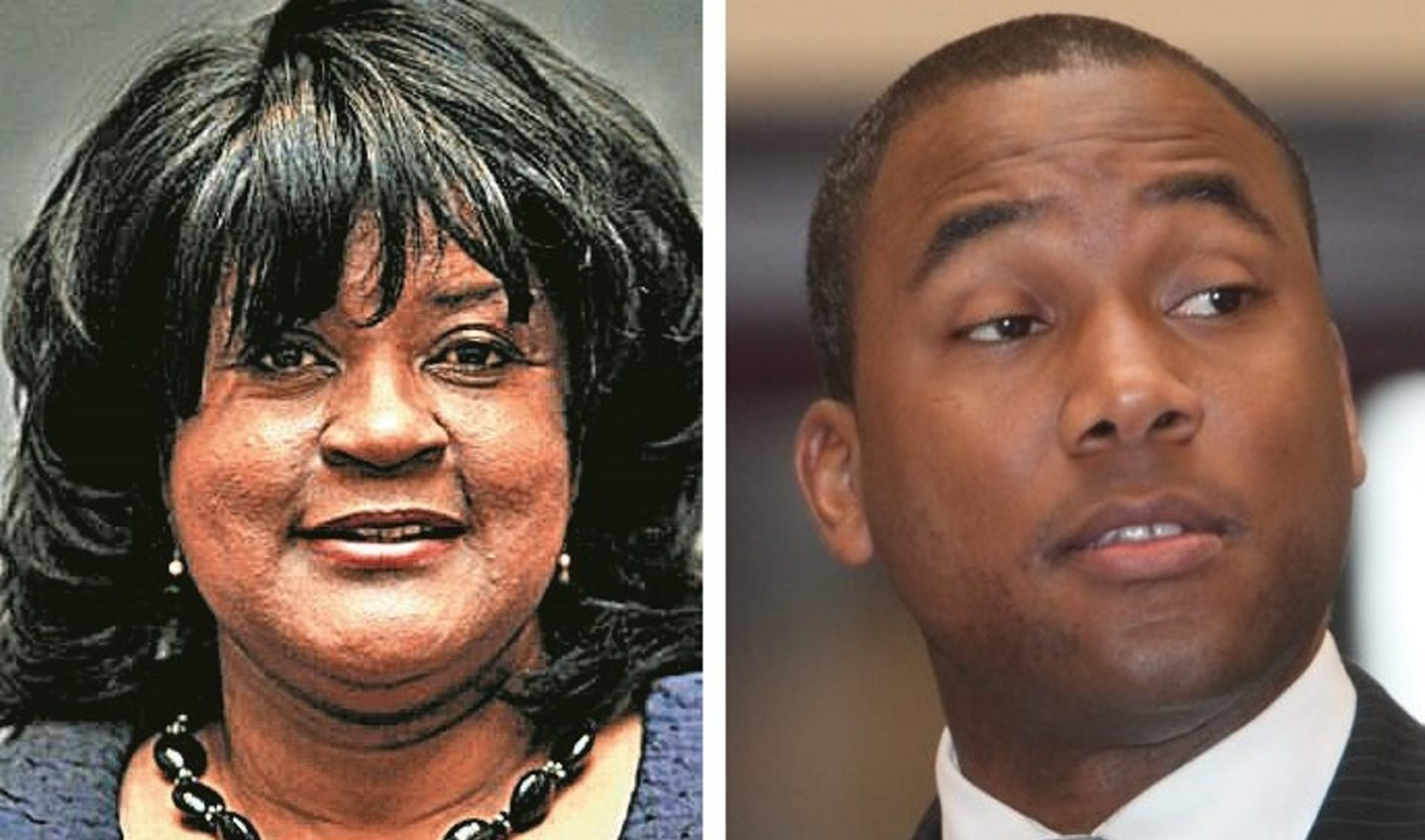 Former Legislature chairwoman Barbara Miller-Williams will face off with 1st District Legislator Timothy Hogues Tuesday.