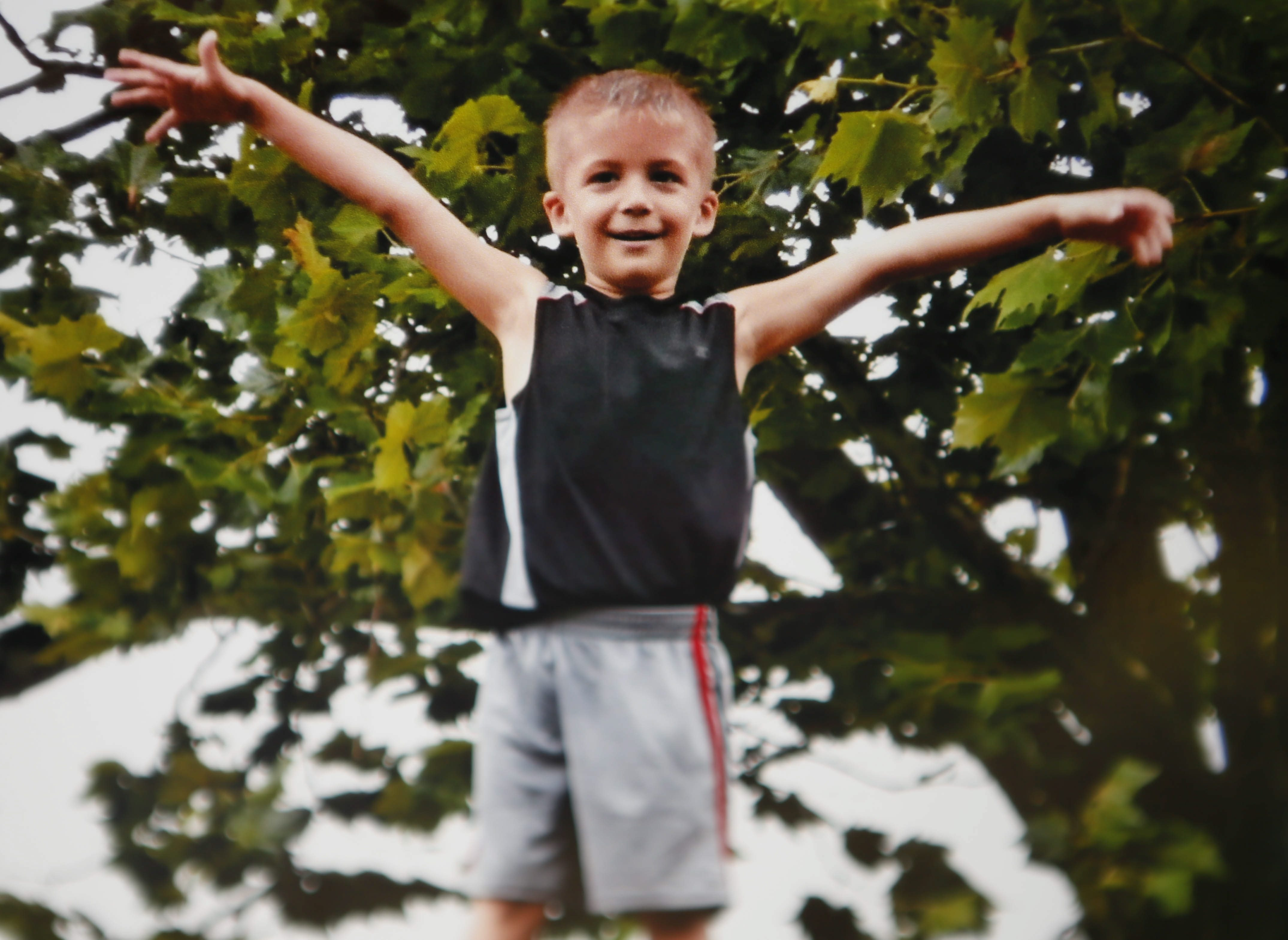 Eain Brooks was beaten to death last week. His mother's boyfriend has been charged.