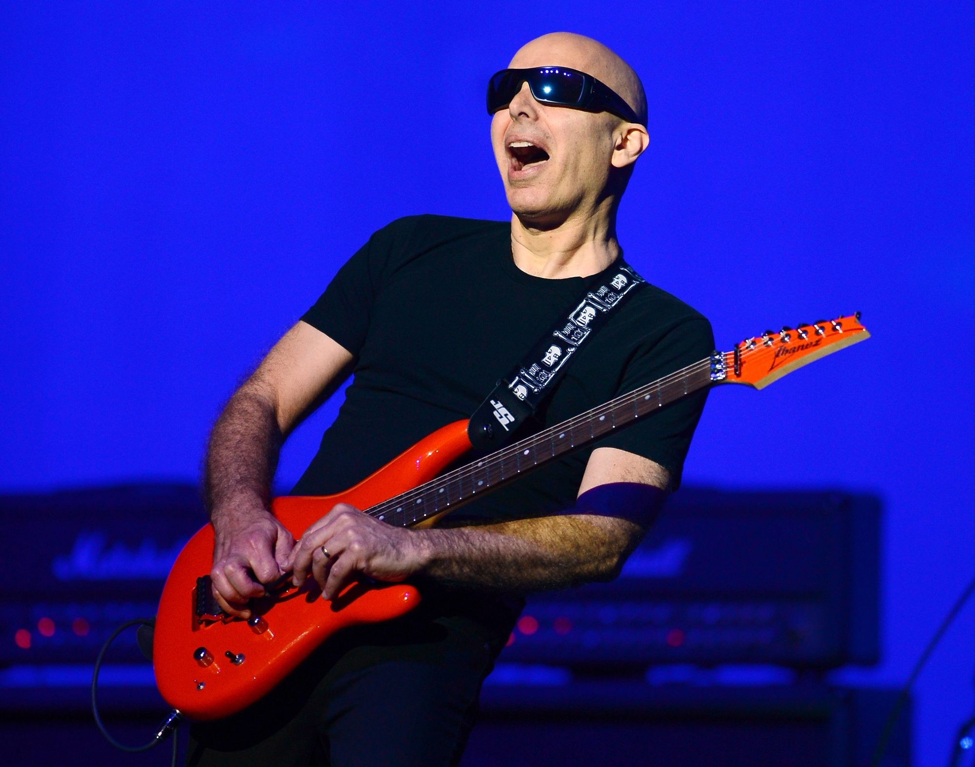 Getty Images  Joe Satriani performs Tuesday in the University at Buffalo Center for the Arts.