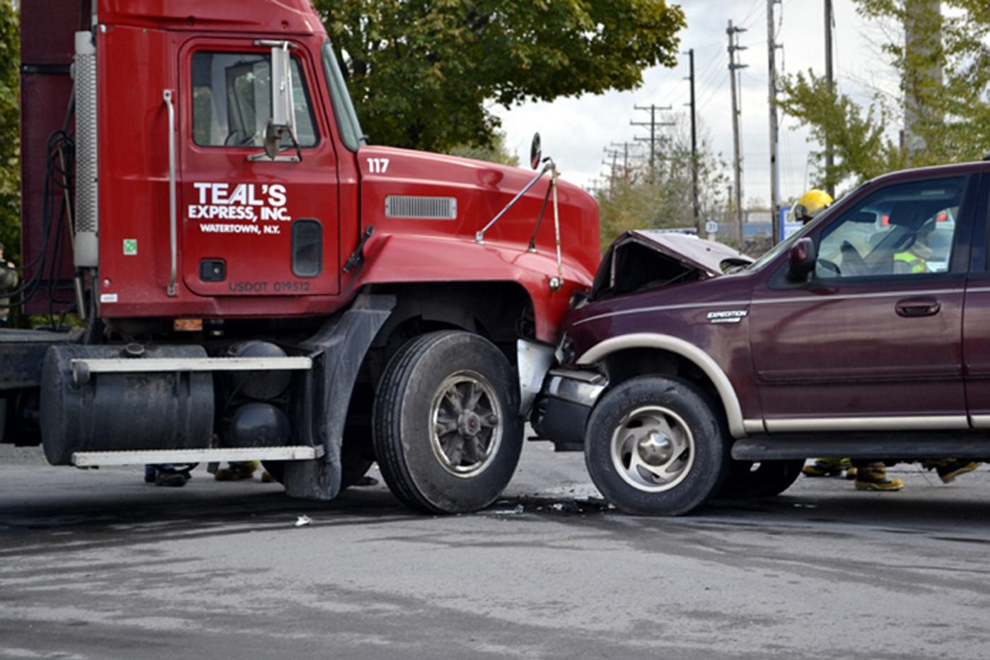 If an accident involves another vehicle, always report it to your insurance company.