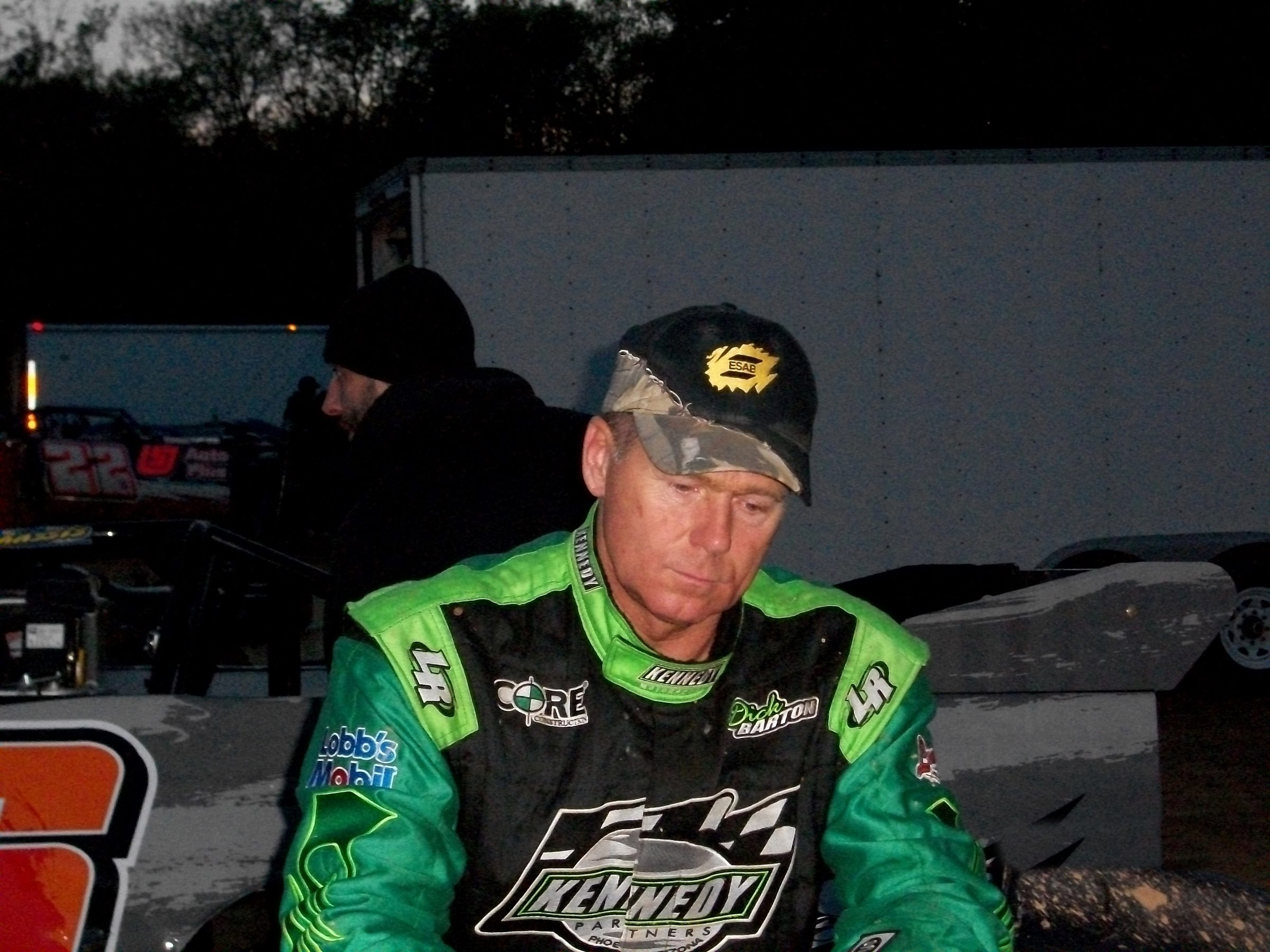 Dick Barton won his 10th Super Late Model season points championship .