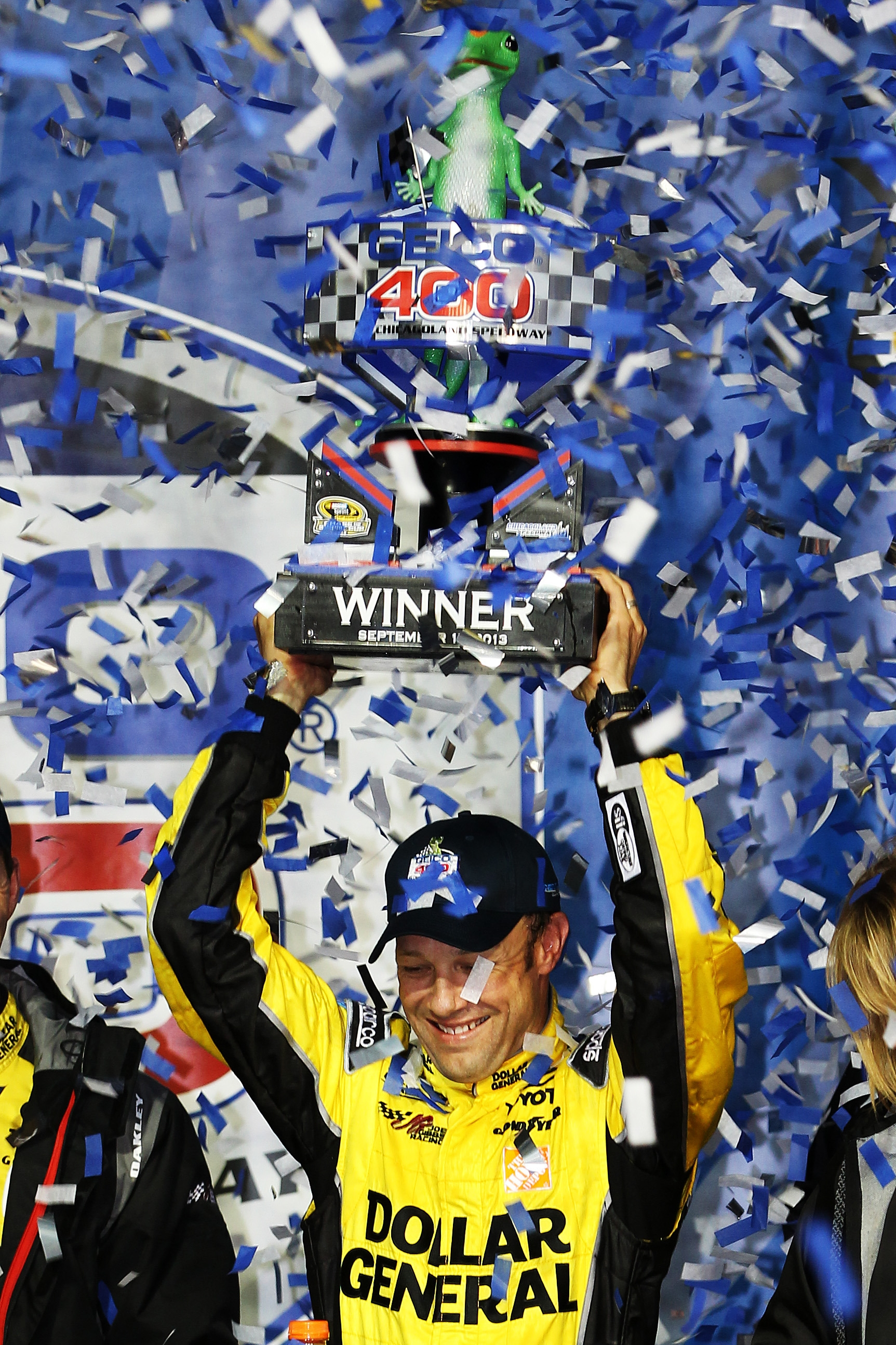 Matt Kenseth won last week's Chase opener and has an eight-point lead over Kyle Busch for the Sprint Cup title.