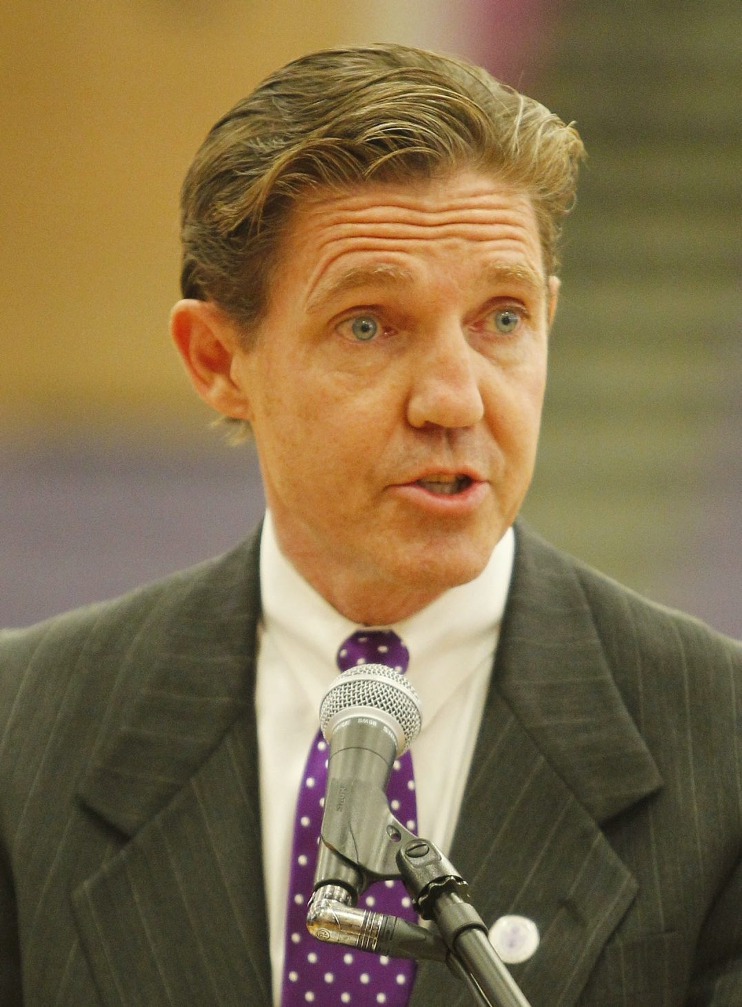 Tom Crowley was hired as athletic director of Niagara University in October 2012.