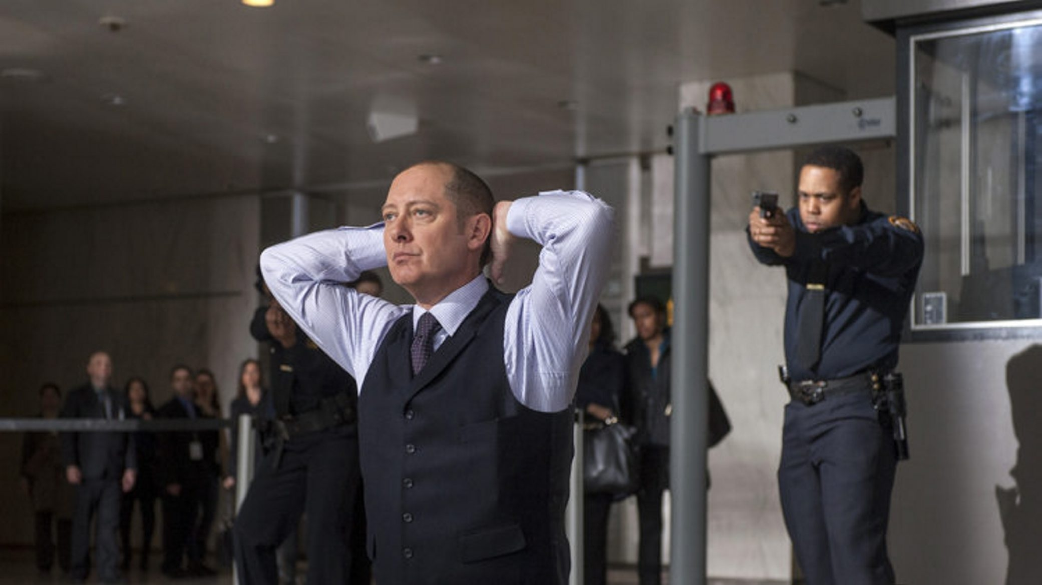 "James Spader stars as ""Red"" Raymond Reddington in ""The Blacklist,"" premiering Monday, Sept. 23, at 10 p.m. on NBC."