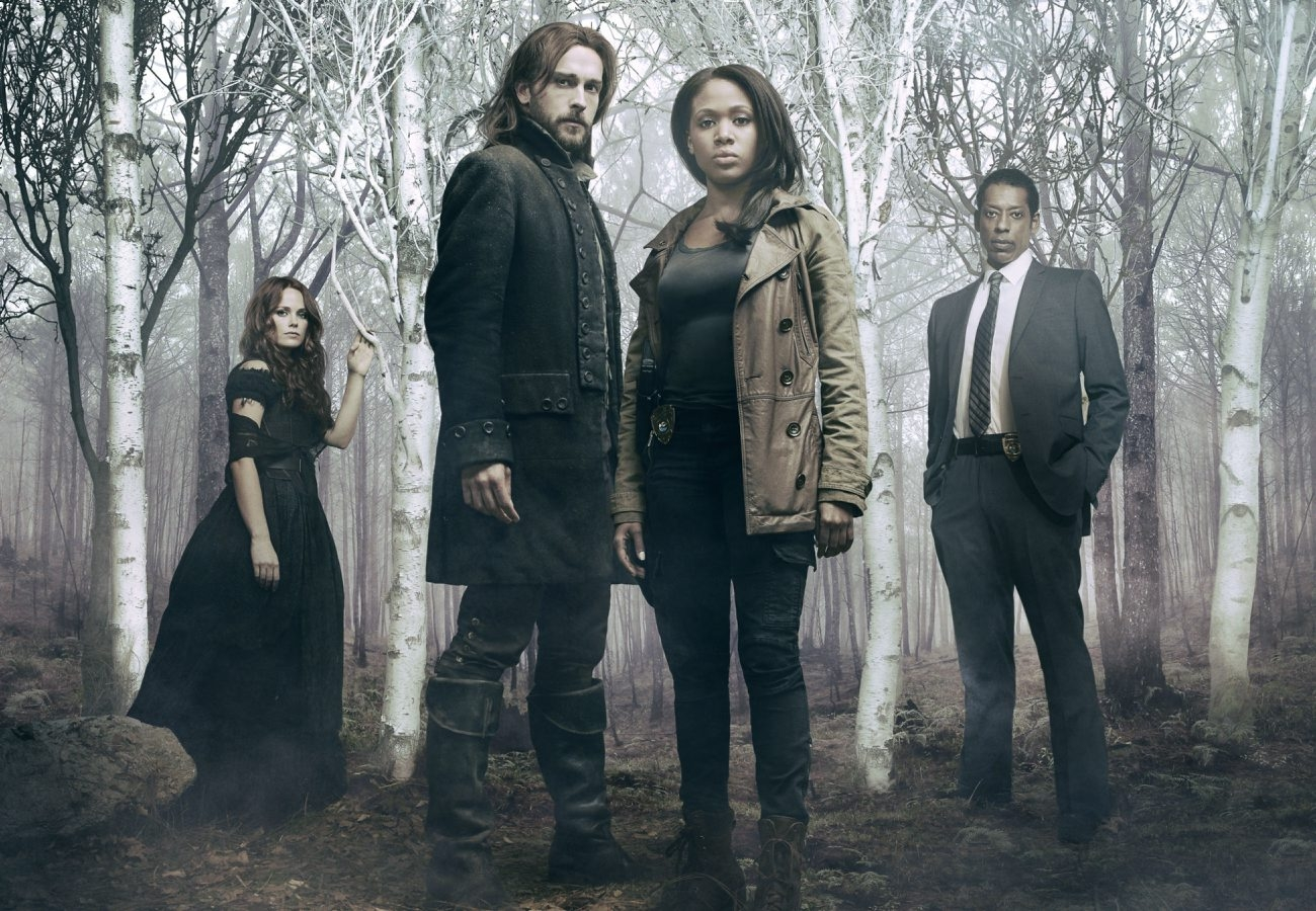 "From left, Katia Winters, Tom Mison, Nicole Beharie and Orlando Jones star in new Fox drama ""Sleepy Hollow"" which premieres tonight"