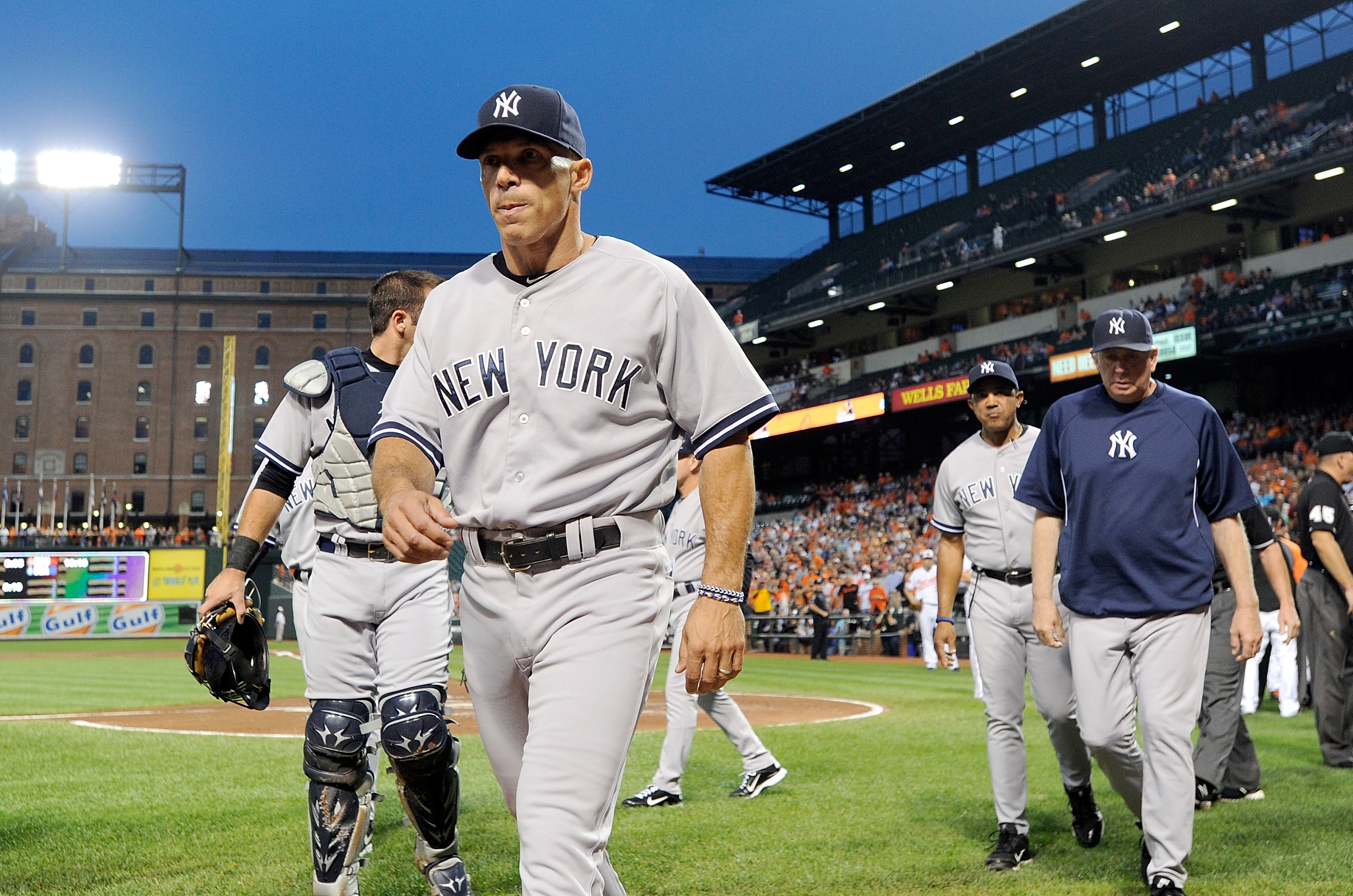 Keeping the Yankees in contention into mid-September enhanced Joe Girardi's managerial reputation.