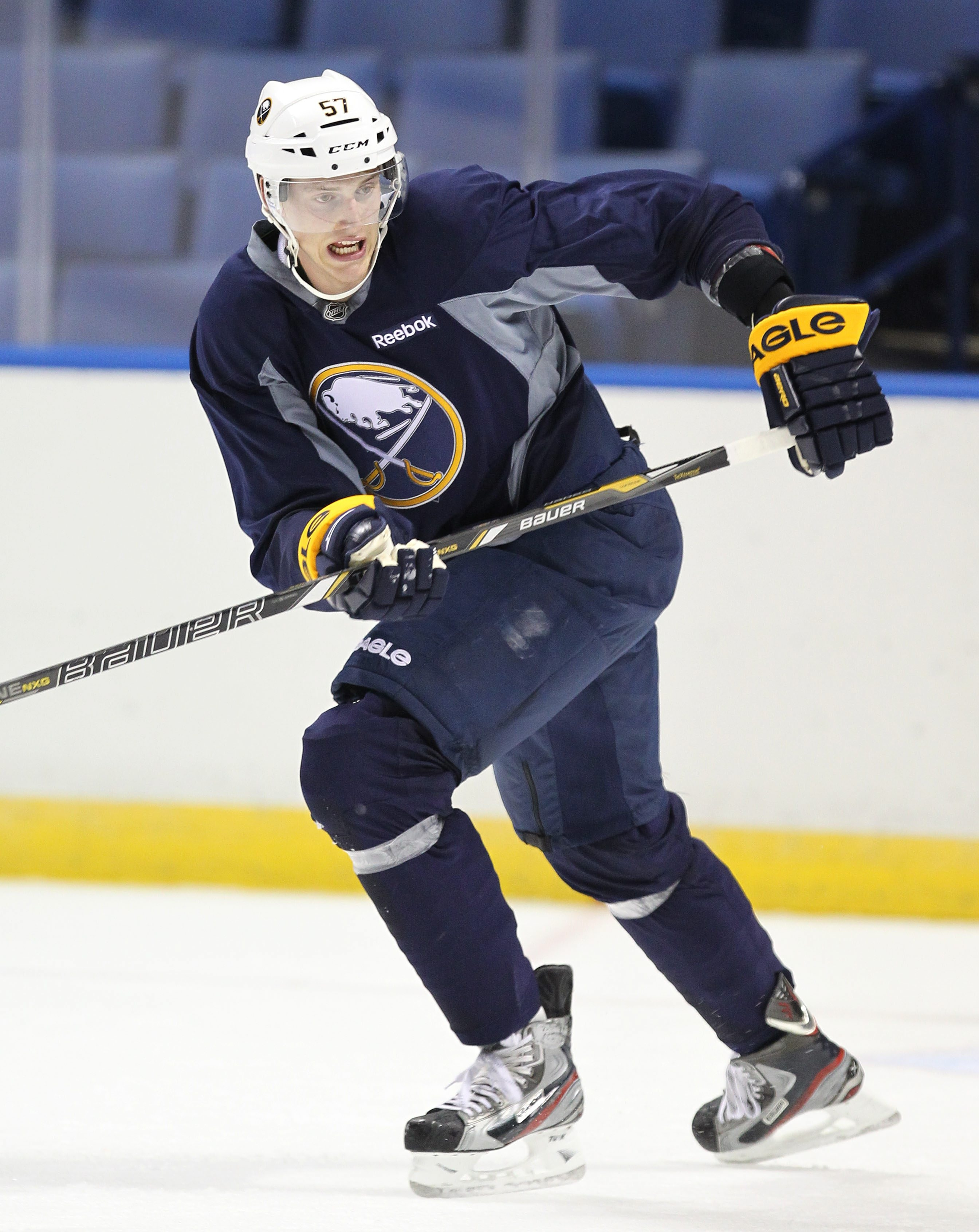 Sabres defenseman Tyler Myers says he is in better physical and mental shape this season.