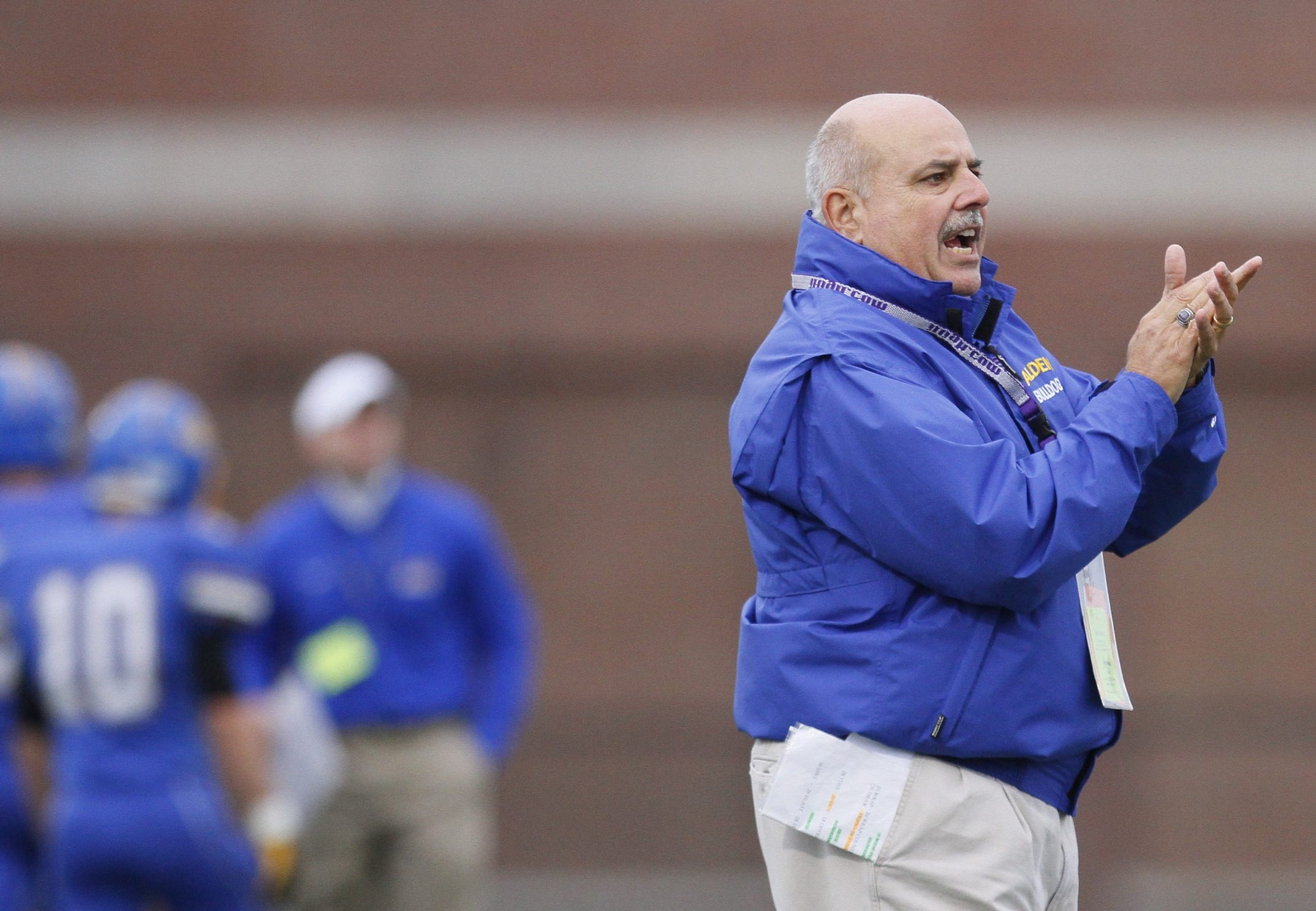 Dick Diminuco earned 242 wins coaching football at Albion and Alden.