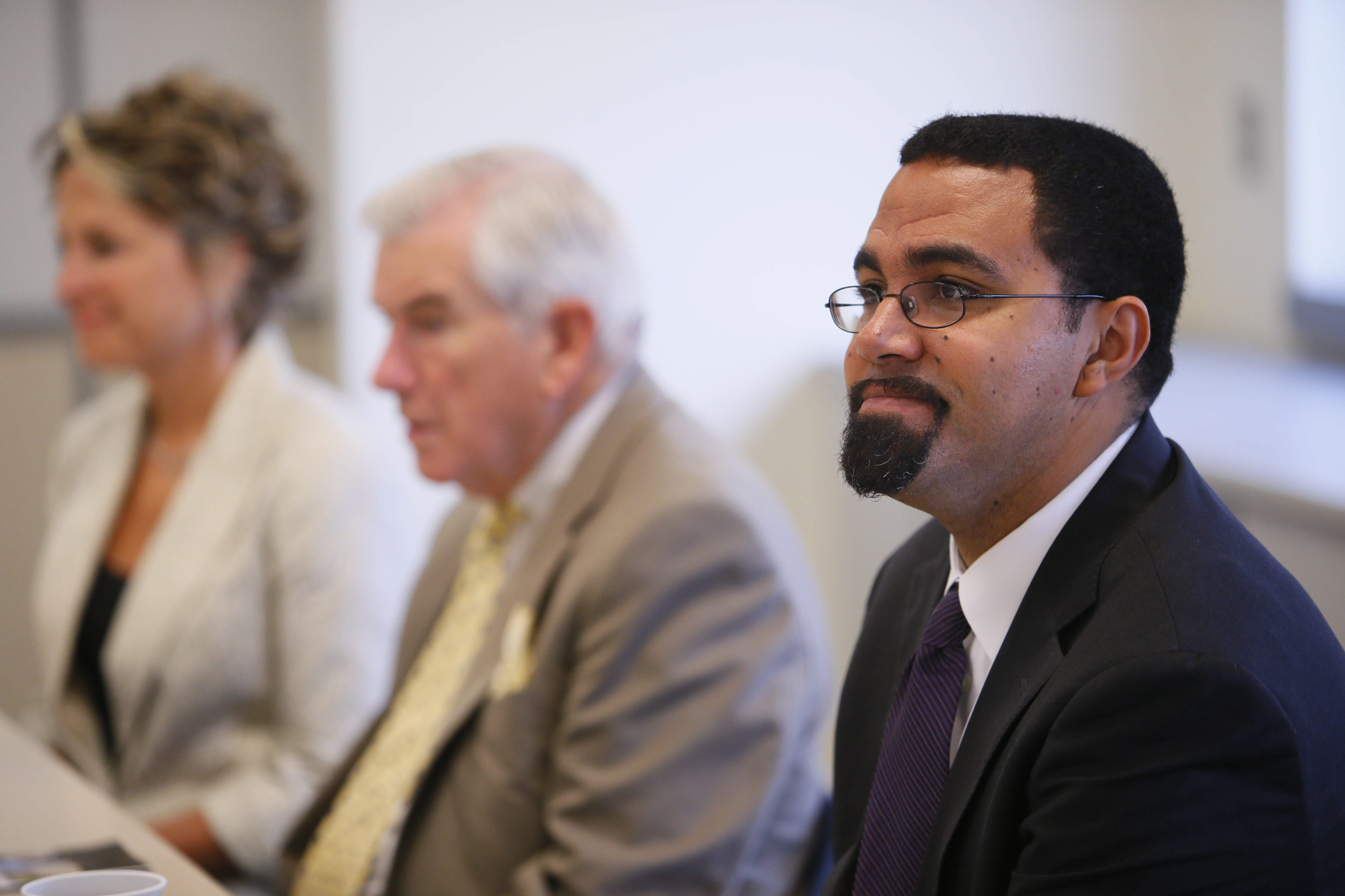Education Commissioner John B. King Jr. says public should hold school district leaders accountable.